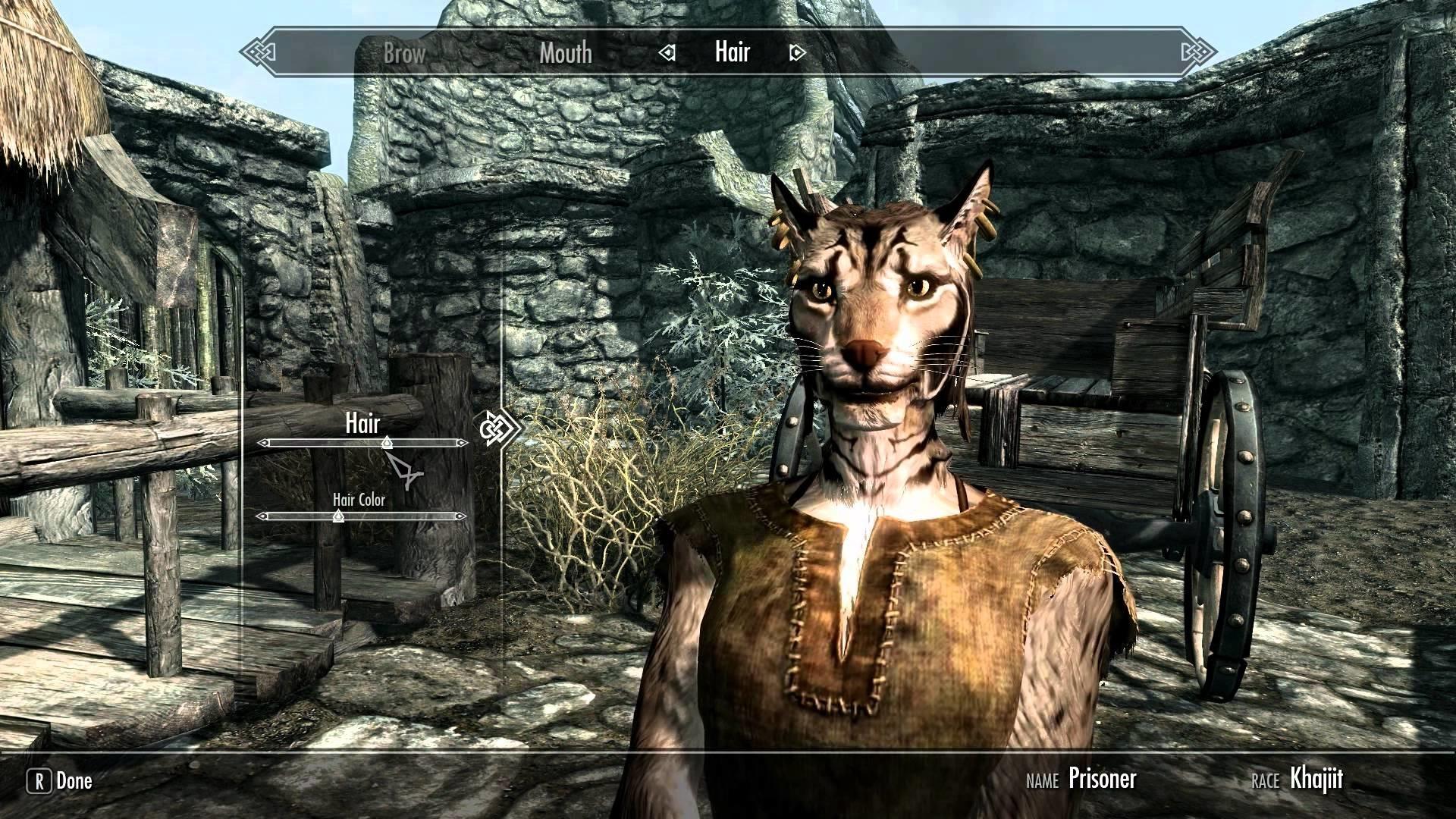 Elder Scrolls V: Skyrim Female Character Creation 1080p HD Ultra Settings –  YouTube