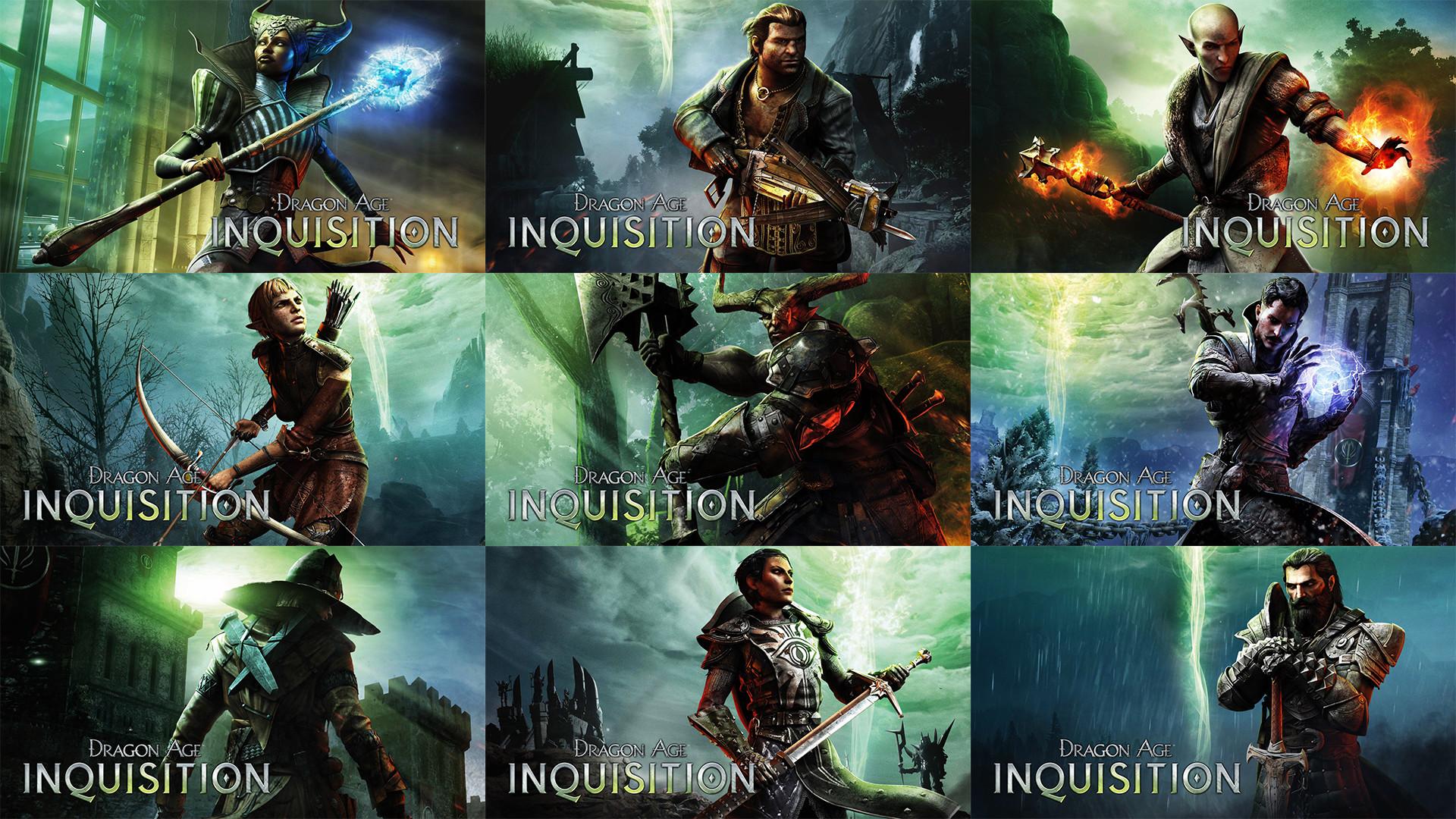 Dragon Age: Inquisition Companion Wallpapers by MatticusIV on .