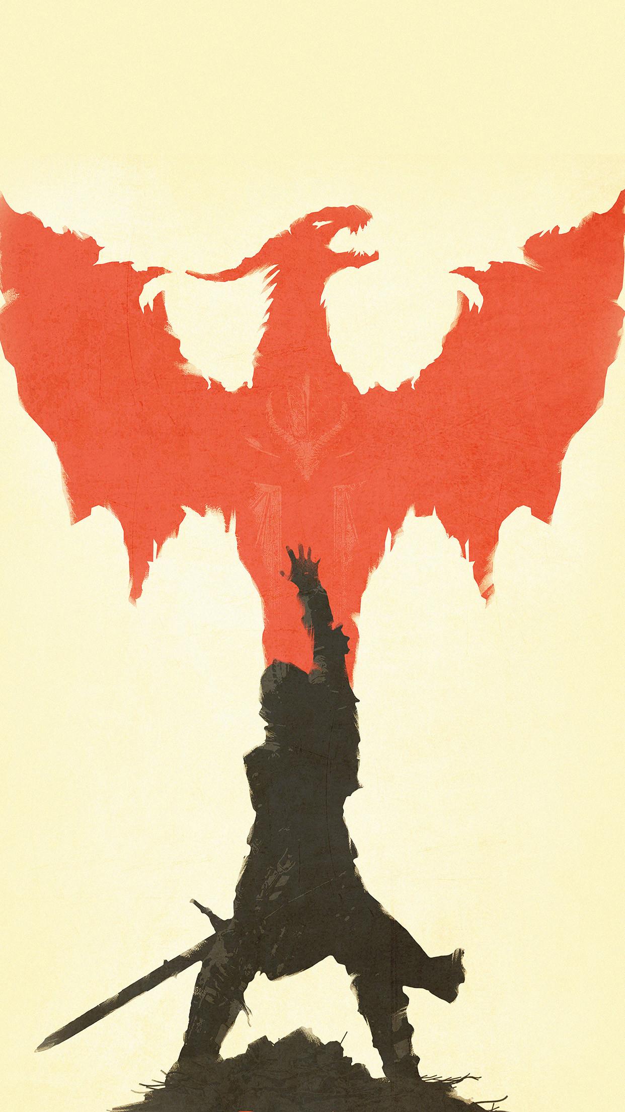 Dragon Age Inquisition Minimal Illustration Android Wallpaper …