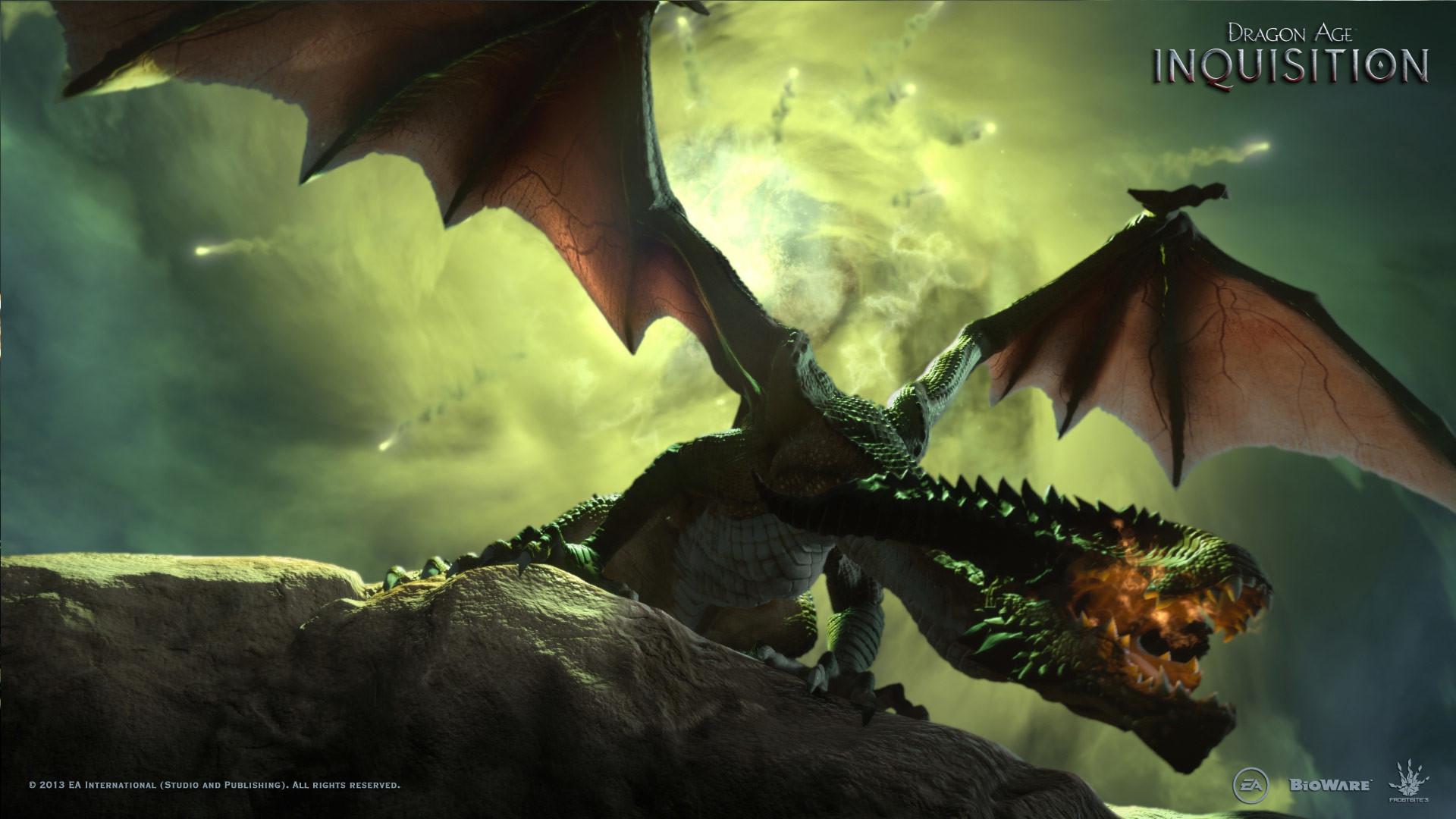… Dragon Age: Inquisition – Fanart – Background …