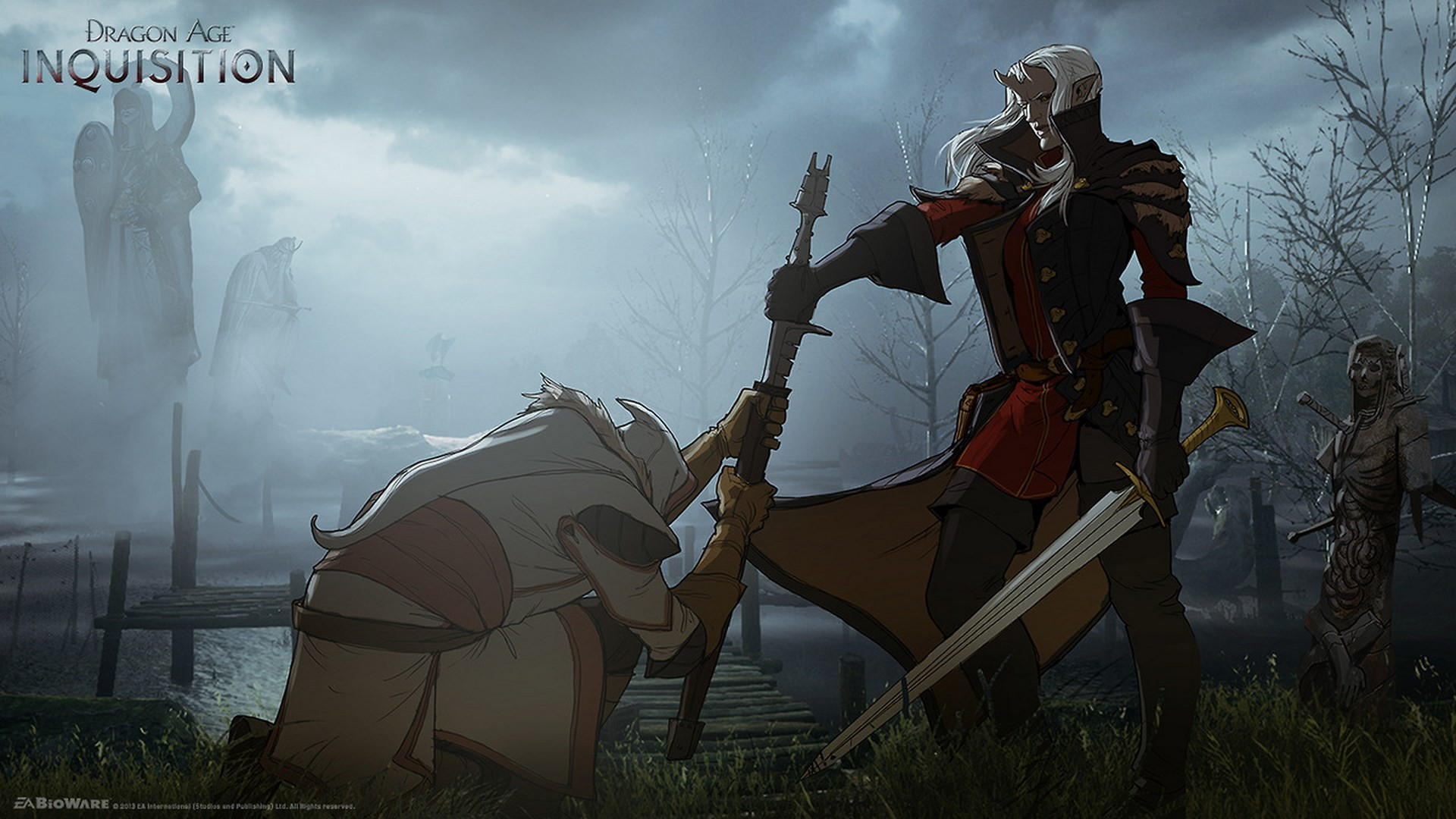 Surrender concept art from the video game Dragon Age: Inquisition by Matt  Rhodes