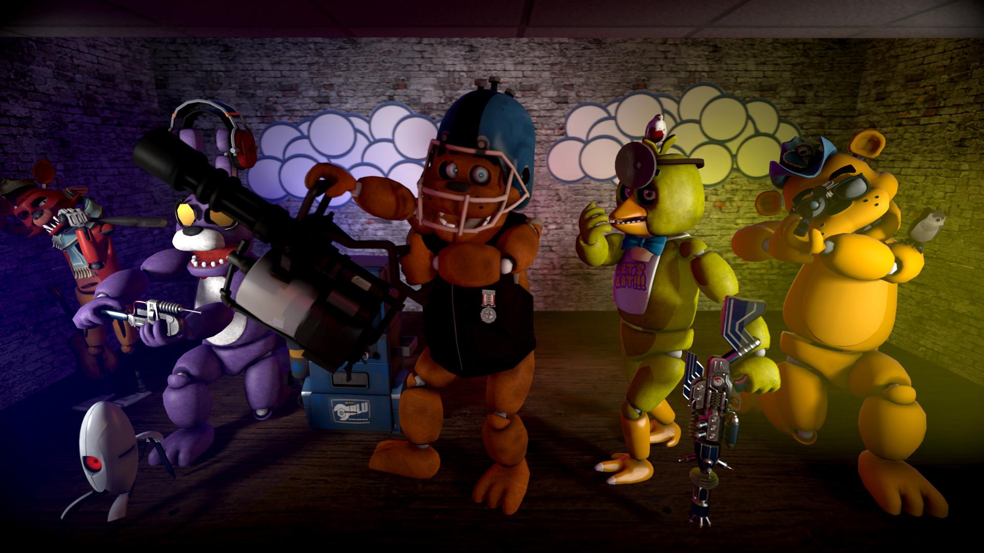 … Freddy Fazbear Pizzeria theme: Team Fortress by RoboticFreeze