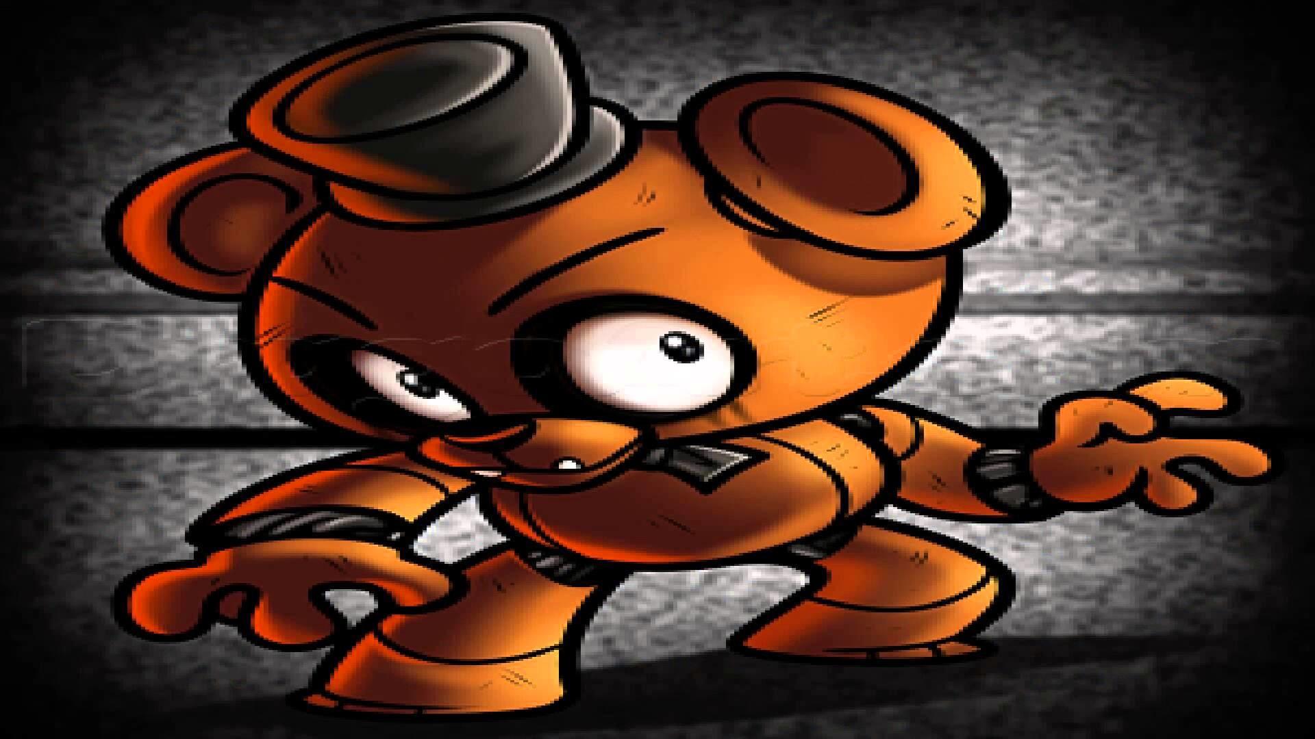 My top ten Freddy Fazbear Fan-arts