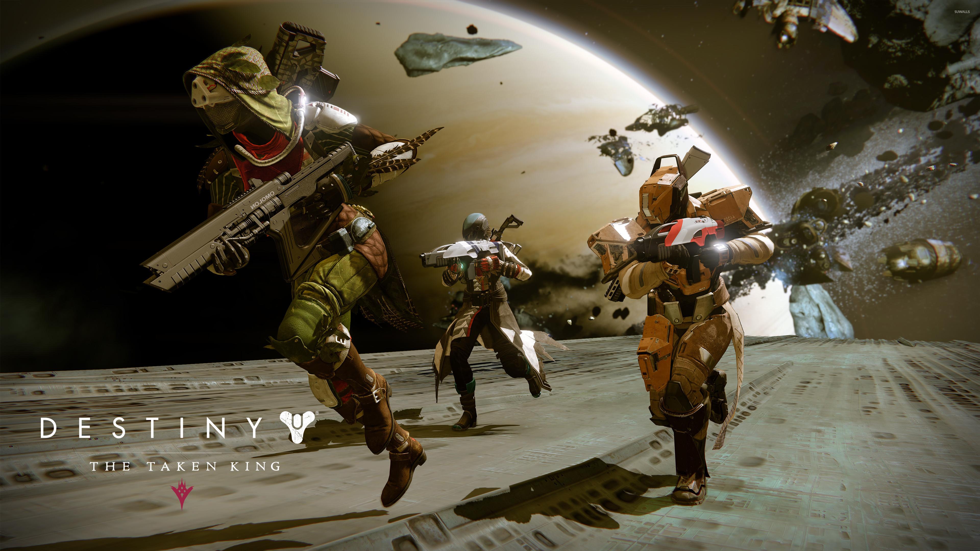 Hunter, Titan and Warlock – Destiny: The Taken King wallpaper jpg
