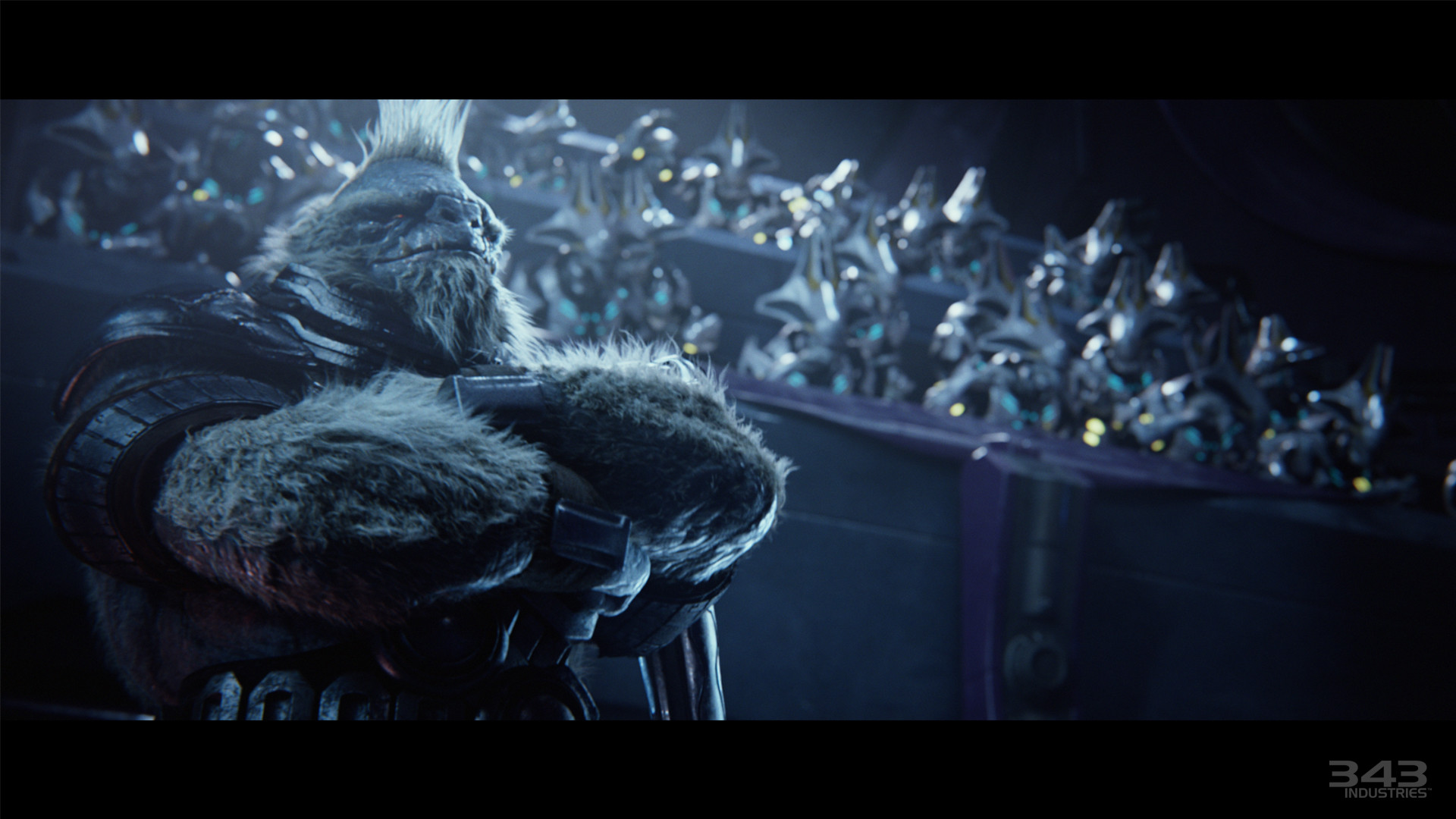 Now look at Tartarus. Still looking badass as usual. Deciding to continue  the Great Journey without the Elites. I never liked the Brutes but Tartarus  is is …