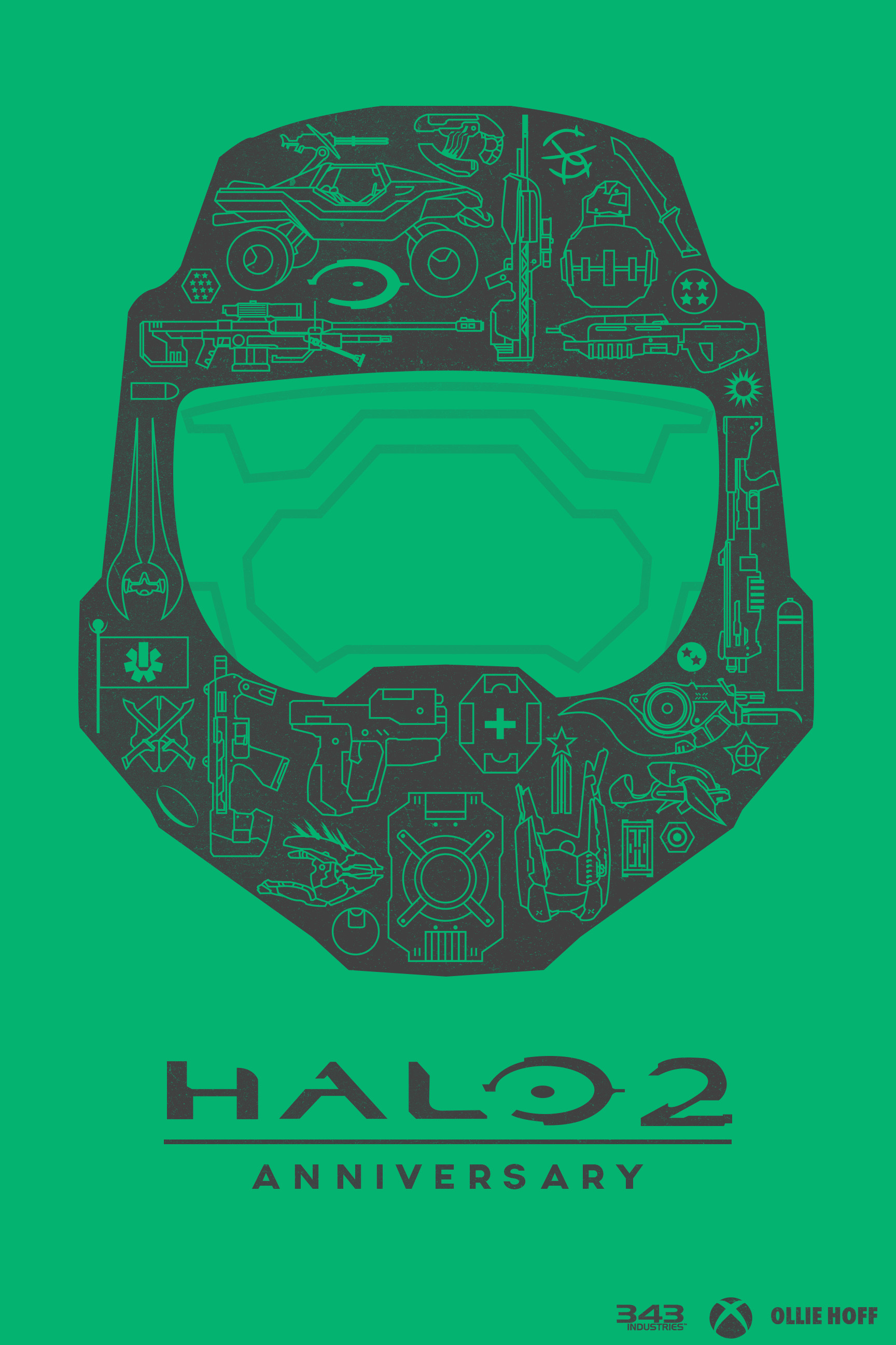 I put together a little fan art for Halo 2: Anniversary, any feedback  welcome!