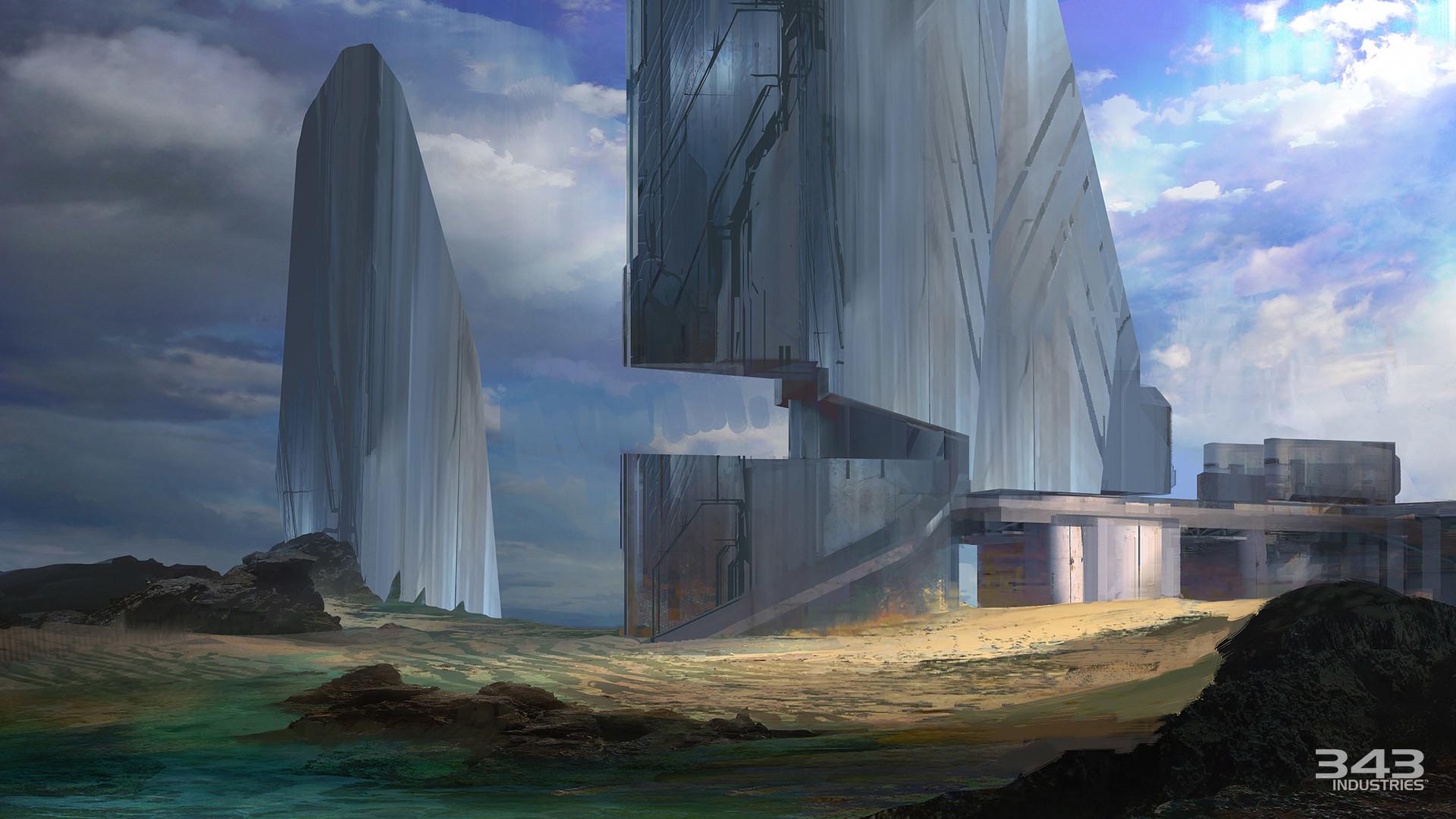 Halo 2 Anniversary Relic Concept Art