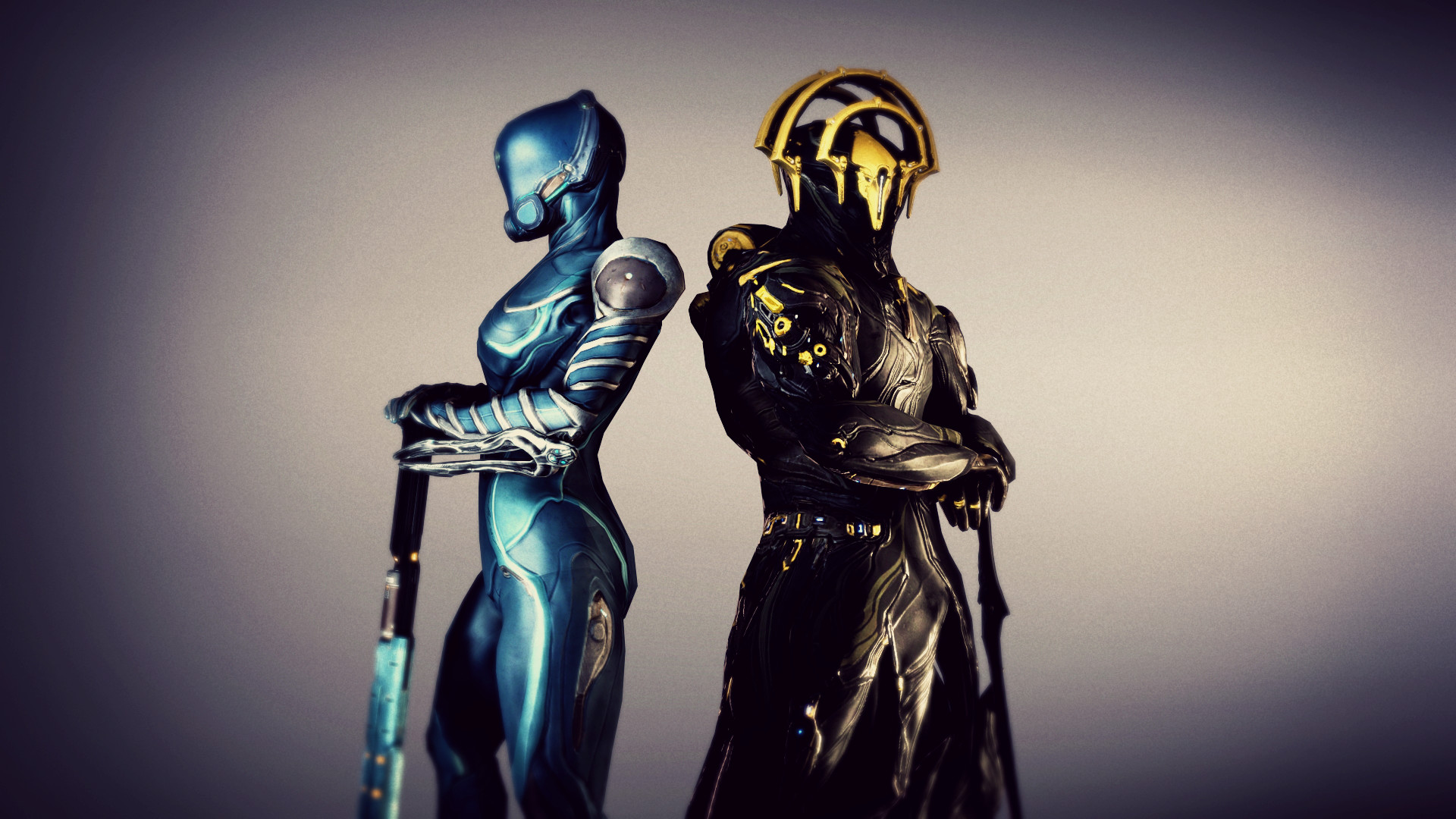 … Warframe: Frost Prime and Mag by hunger-maverick