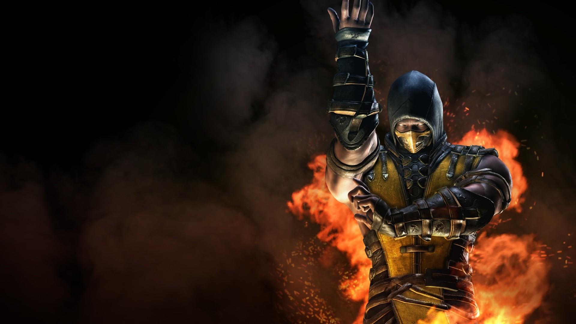 Mortal Kombat X Inferno Scorpion