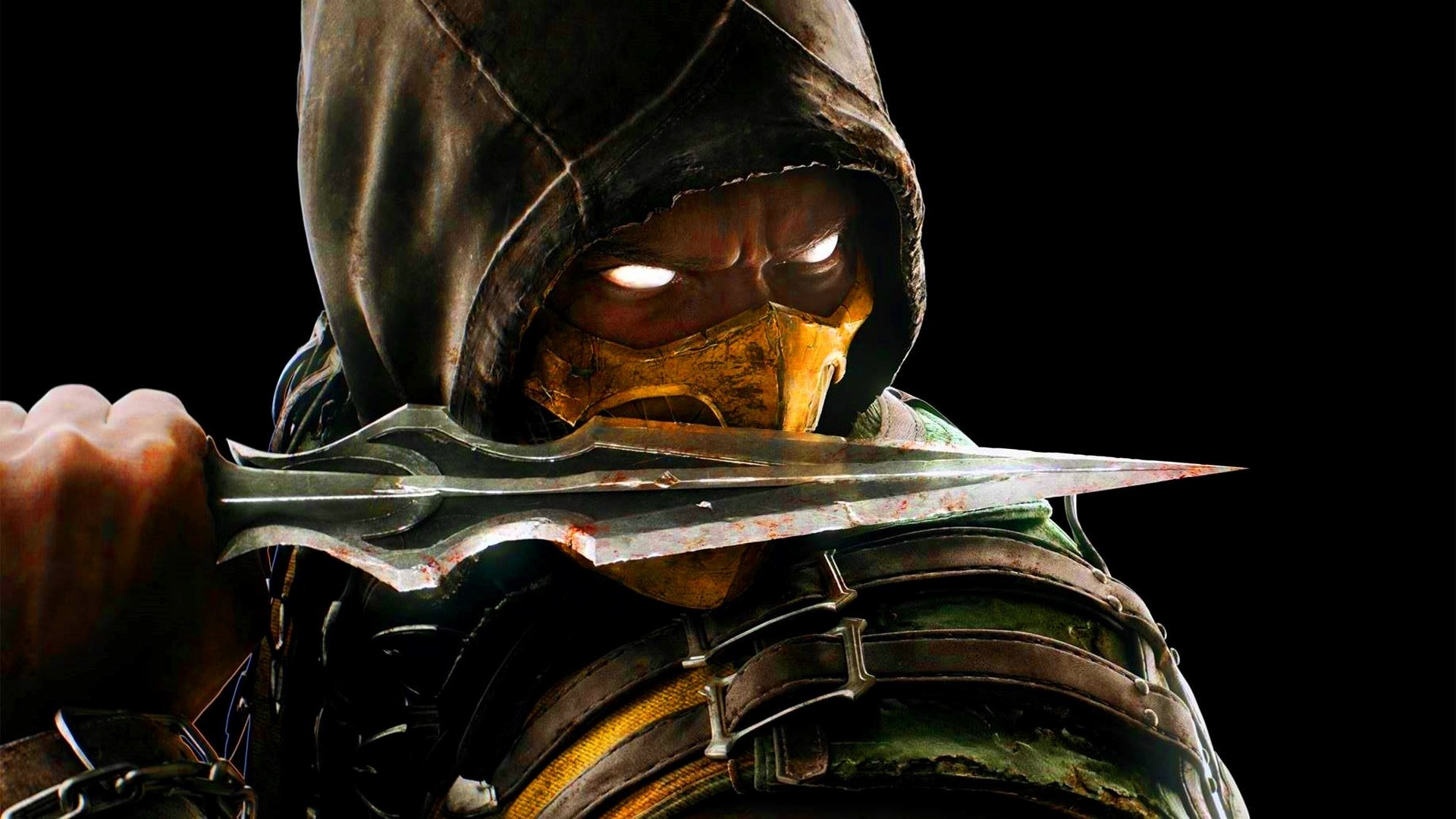 Mortal Kombat X Scorpion With Knife   1920 x 1080   Download   Close