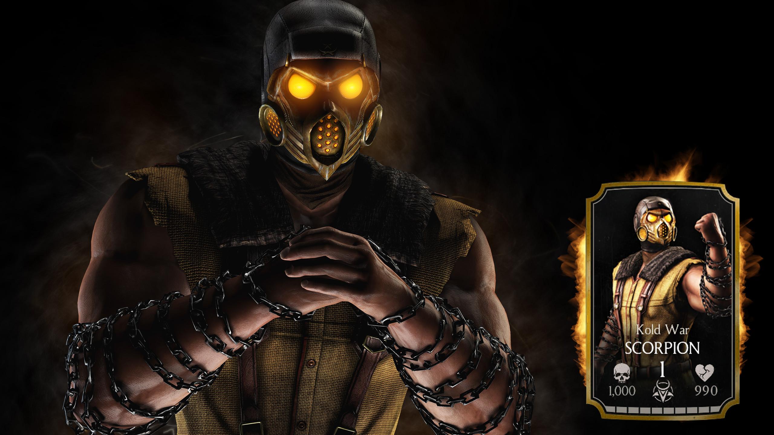 Scorpion Mortal Kombat X wallpapers (84 Wallpapers)