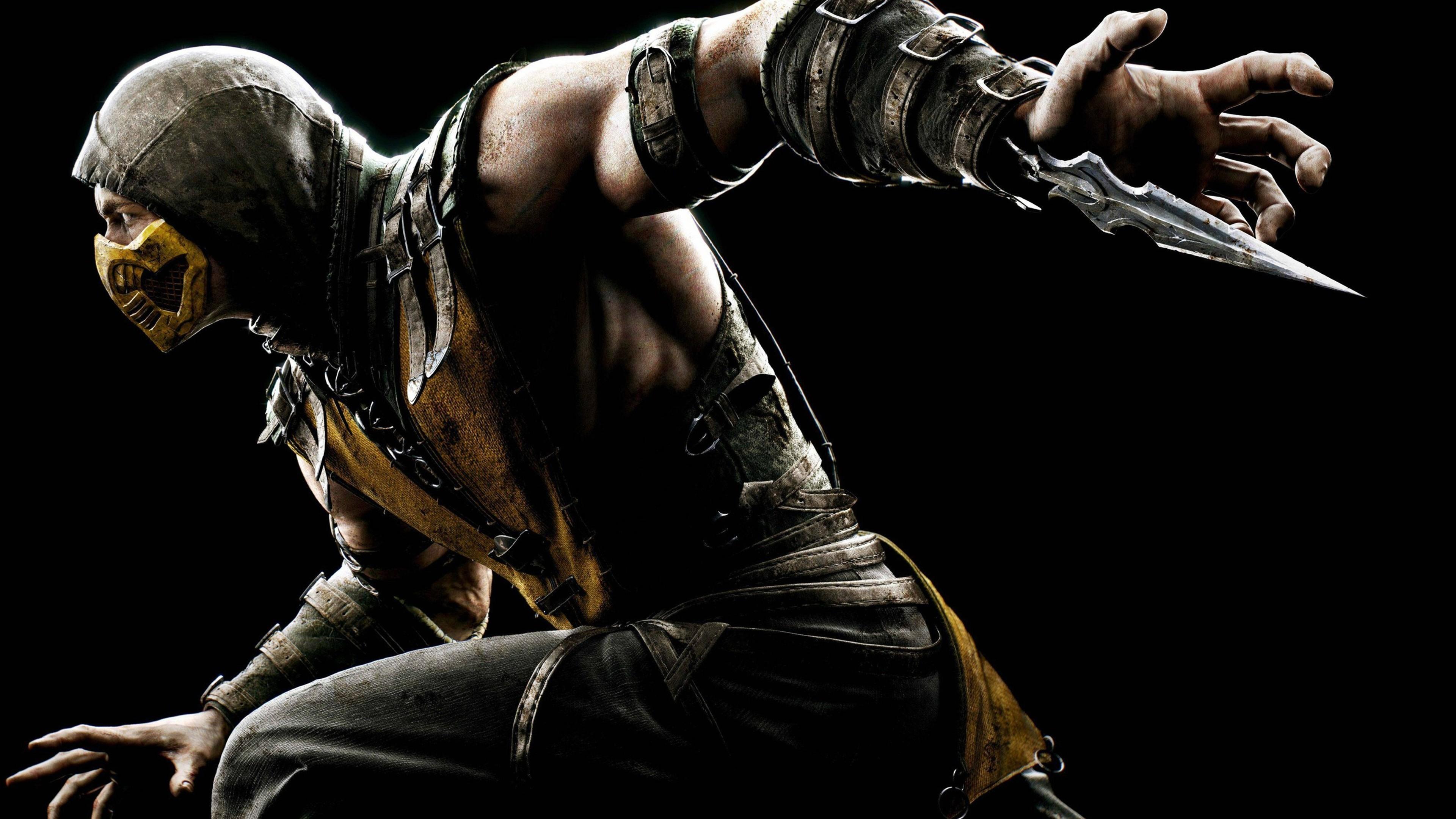 Mortal Kombat X Scorpion 2048×1152 Resolution