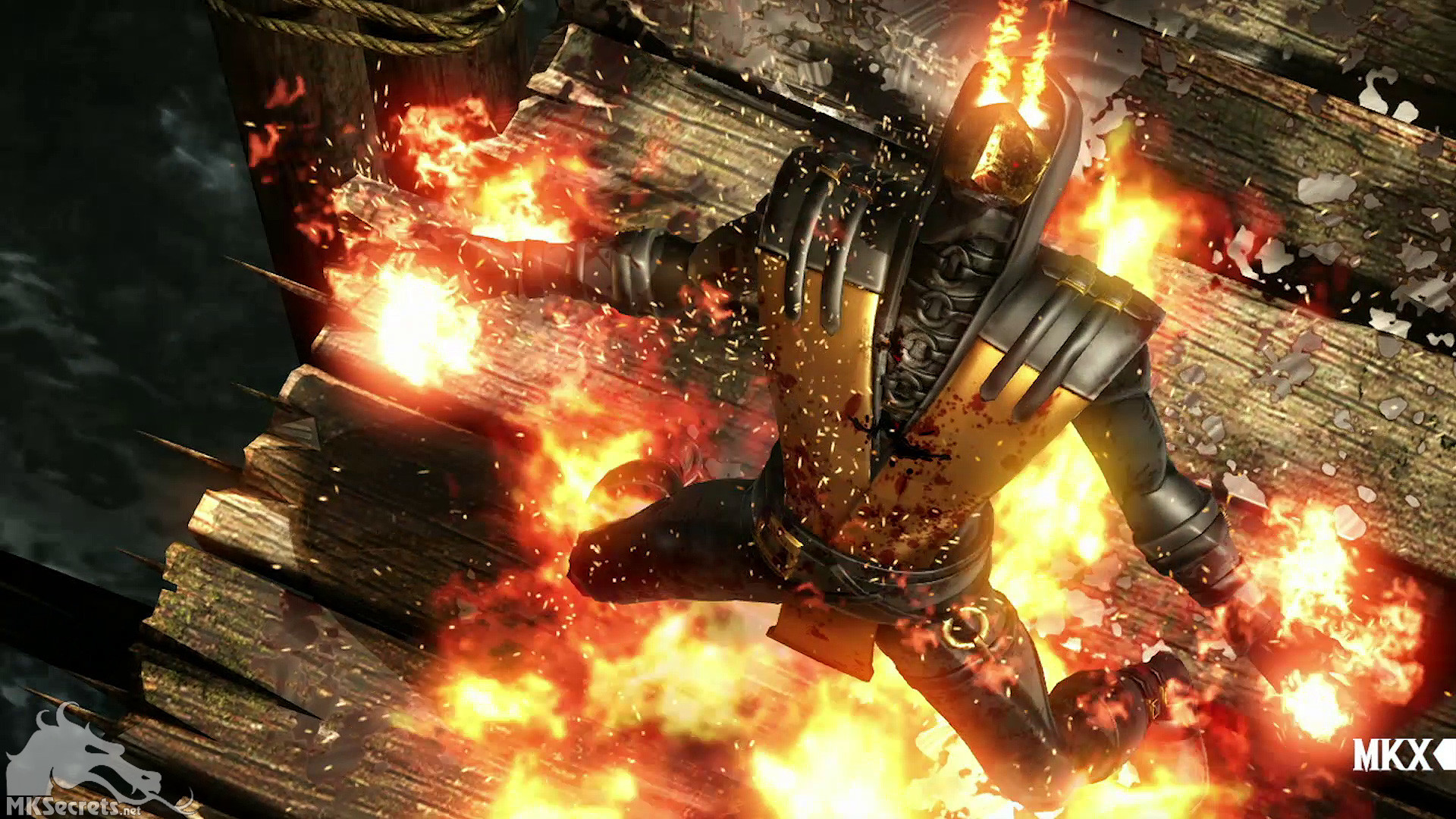 … Mortal Kombat X Gold Scorpion Screenshot 03
