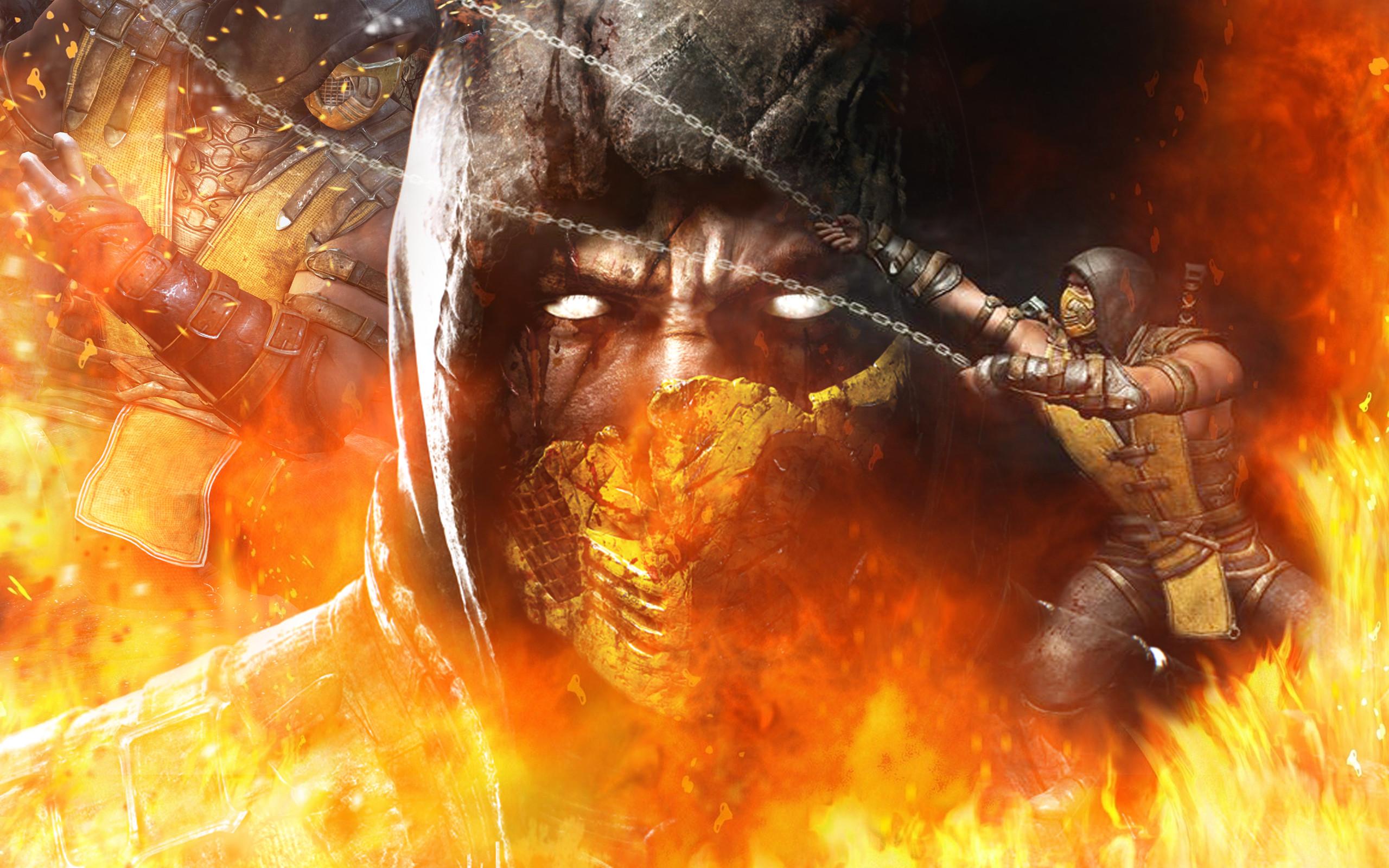 … Mortal Kombat X – Scorpion by barrymk100