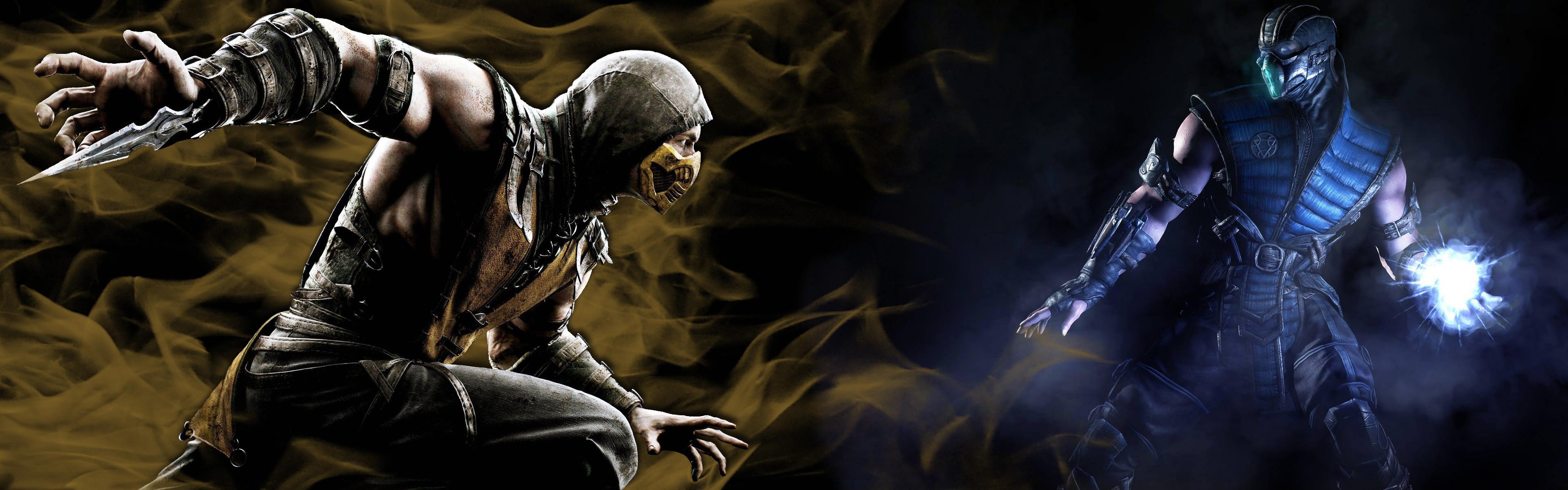 Sub-Zero by Hentiger5544 Mortal Kombat X Background, Scorpion vs. Sub-Zero  by Hentiger5544