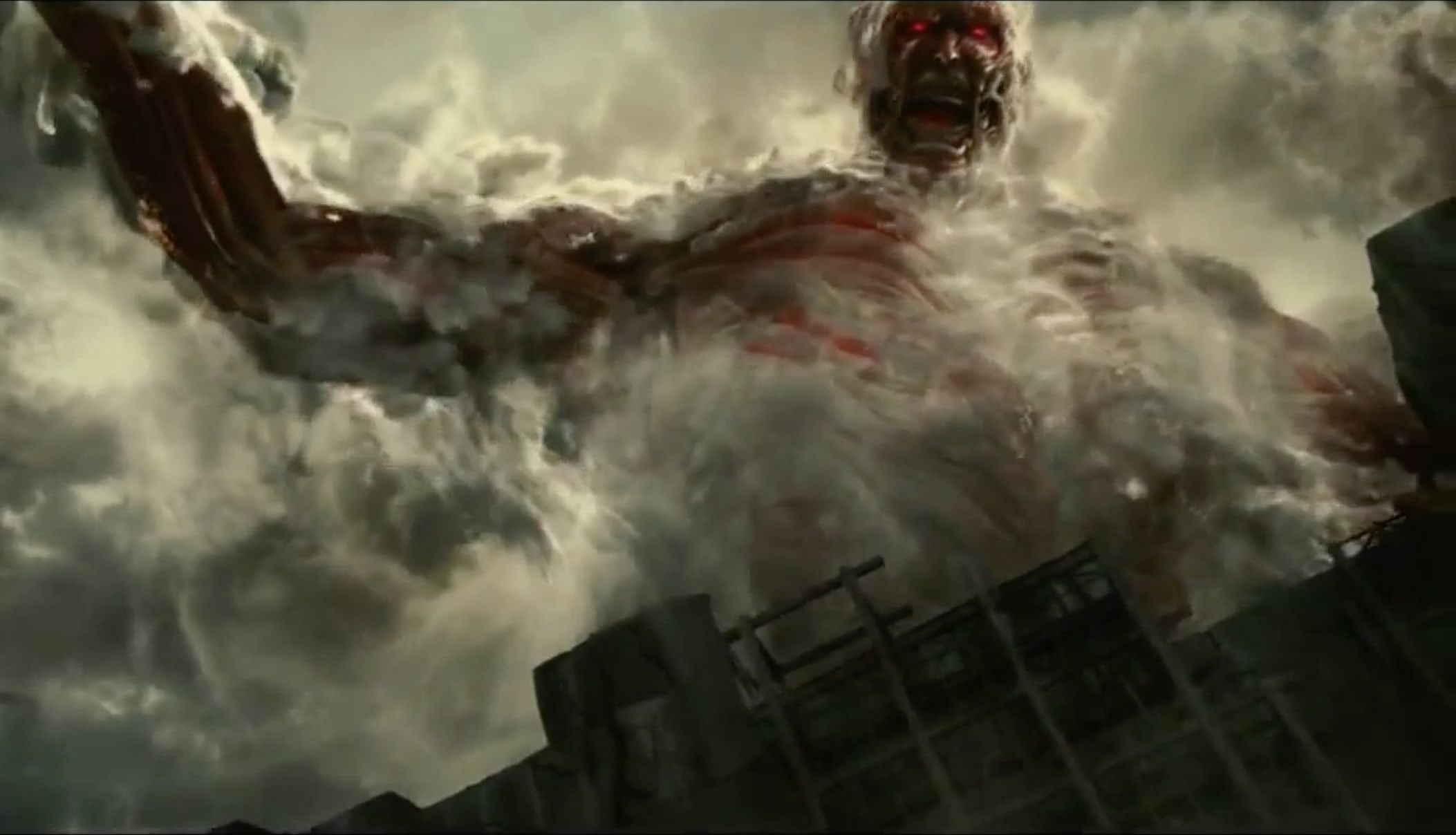 attack on titan live action wallpaper