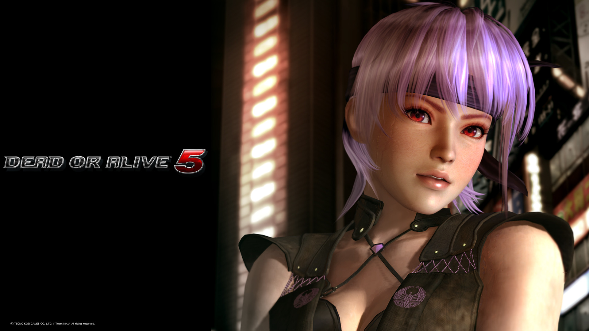 Dead or Alive 5, DOA5 – New Kasumi, Ayane, Hitomi Wallpapers