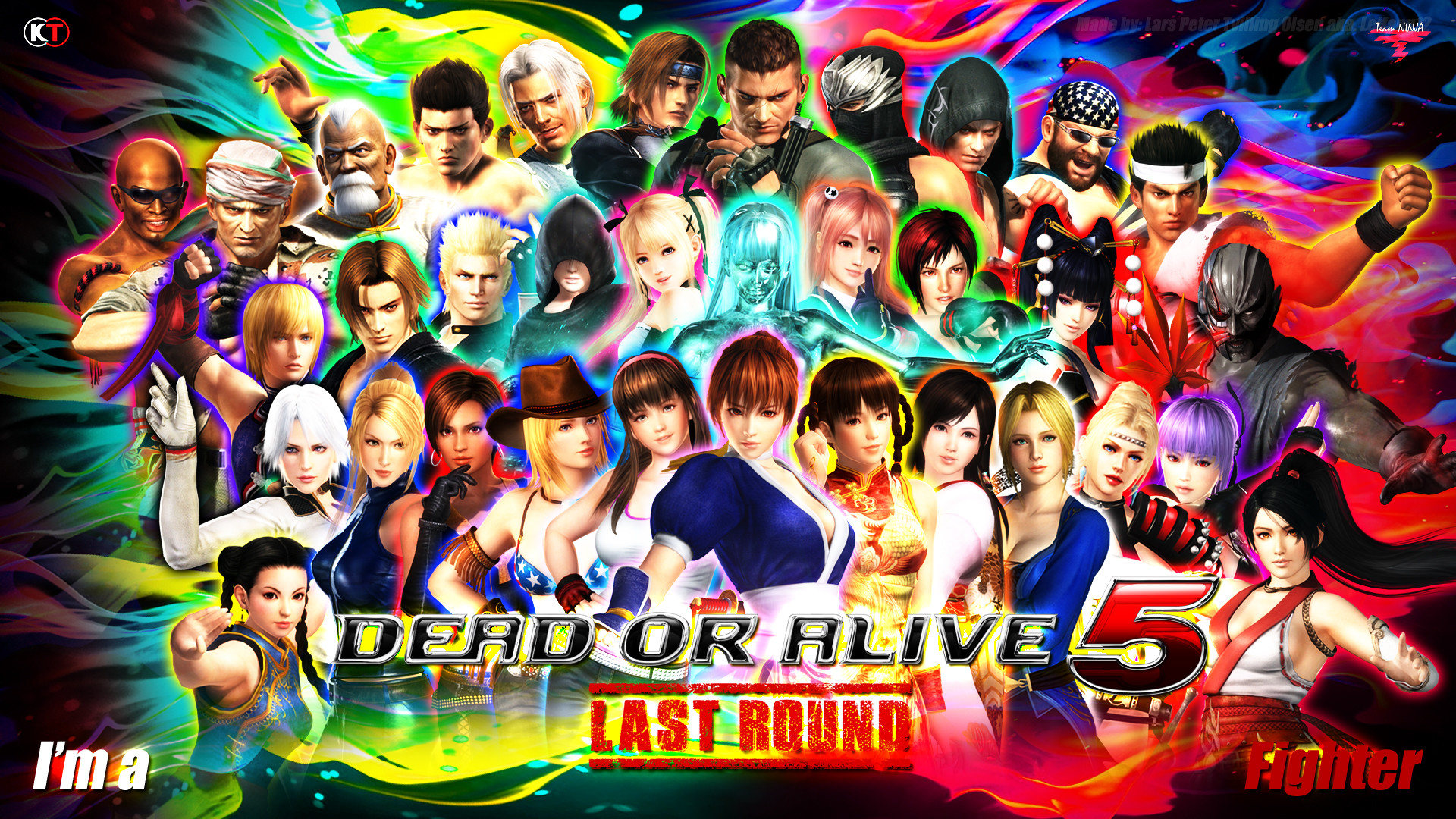 … DEAD OR ALIVE 5 – LAST ROUND – CHARACTER WALLPAPER by Leifang12