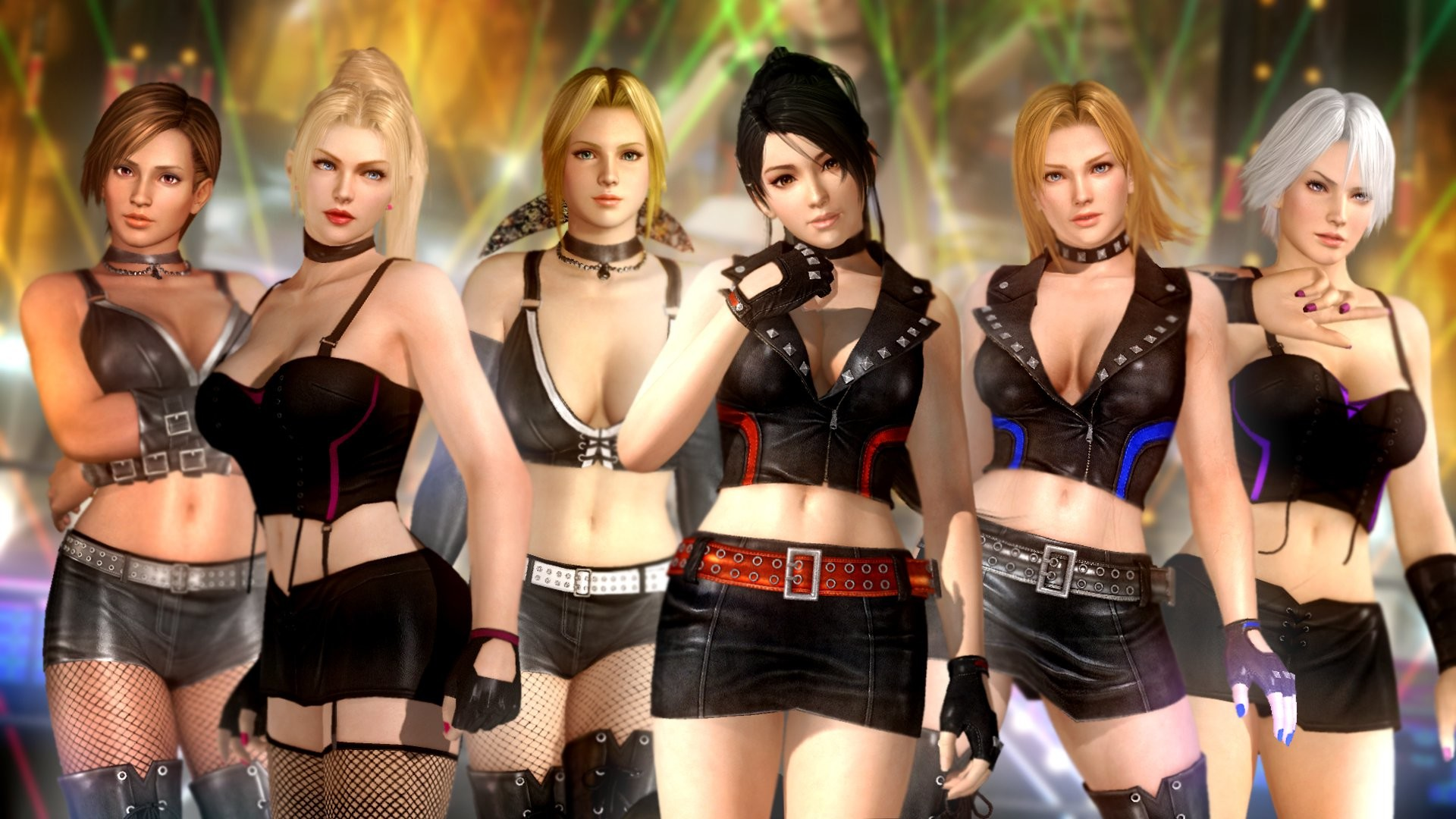 Dead or Alive 5 Group HD Wallpaper