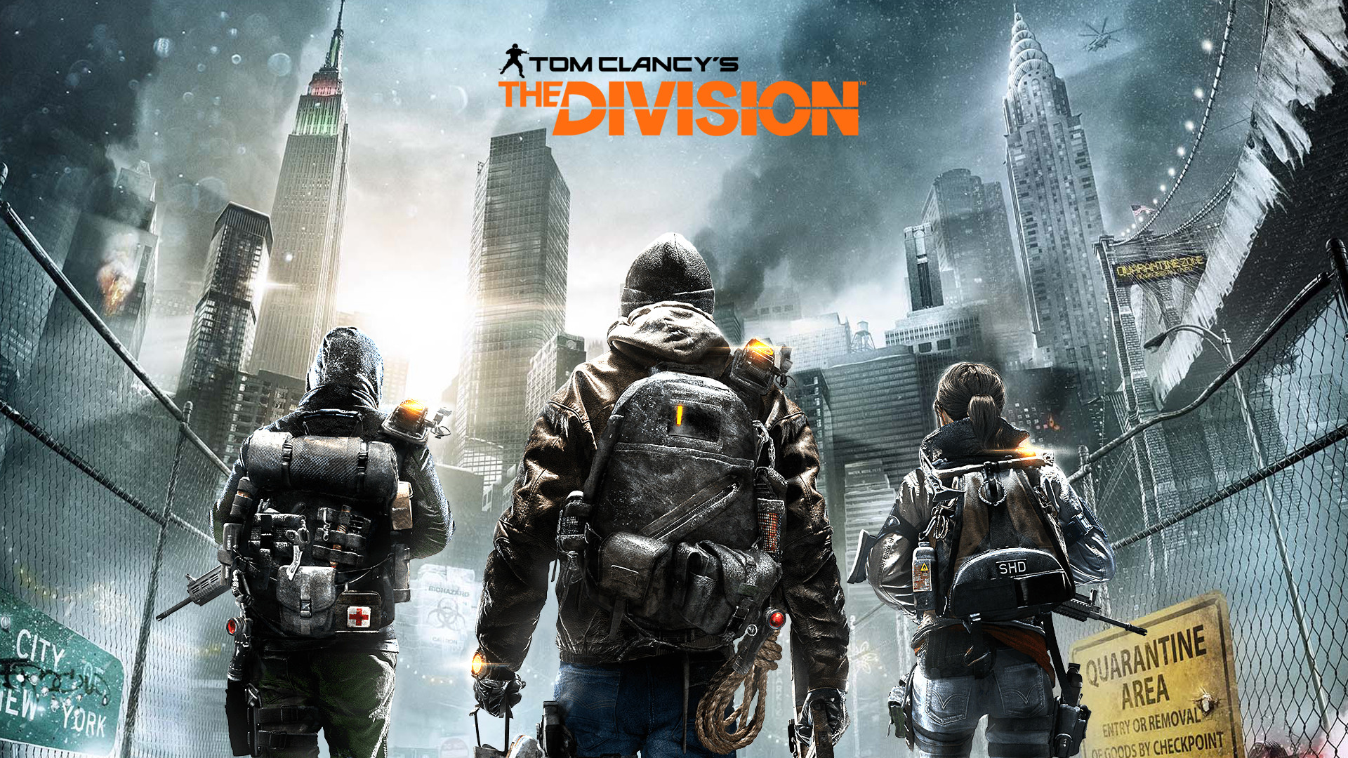 Ubisoft dropped plenty of news concerning The Division and Rainbow Six .