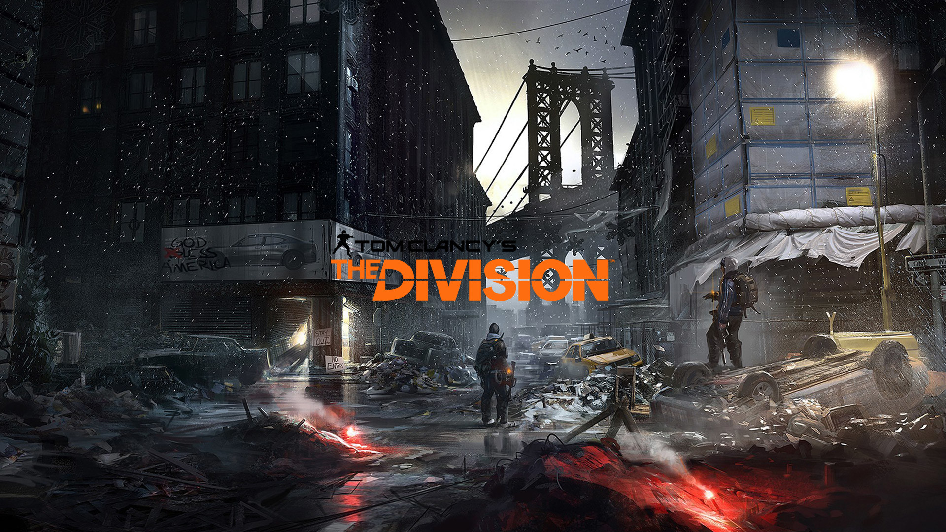 The Division Wallpaper 1080p