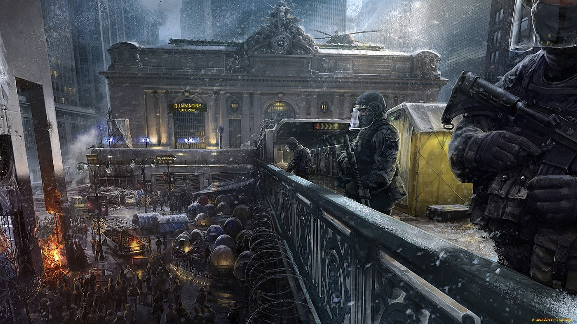 The Division Wallpaper HD 1920×1080