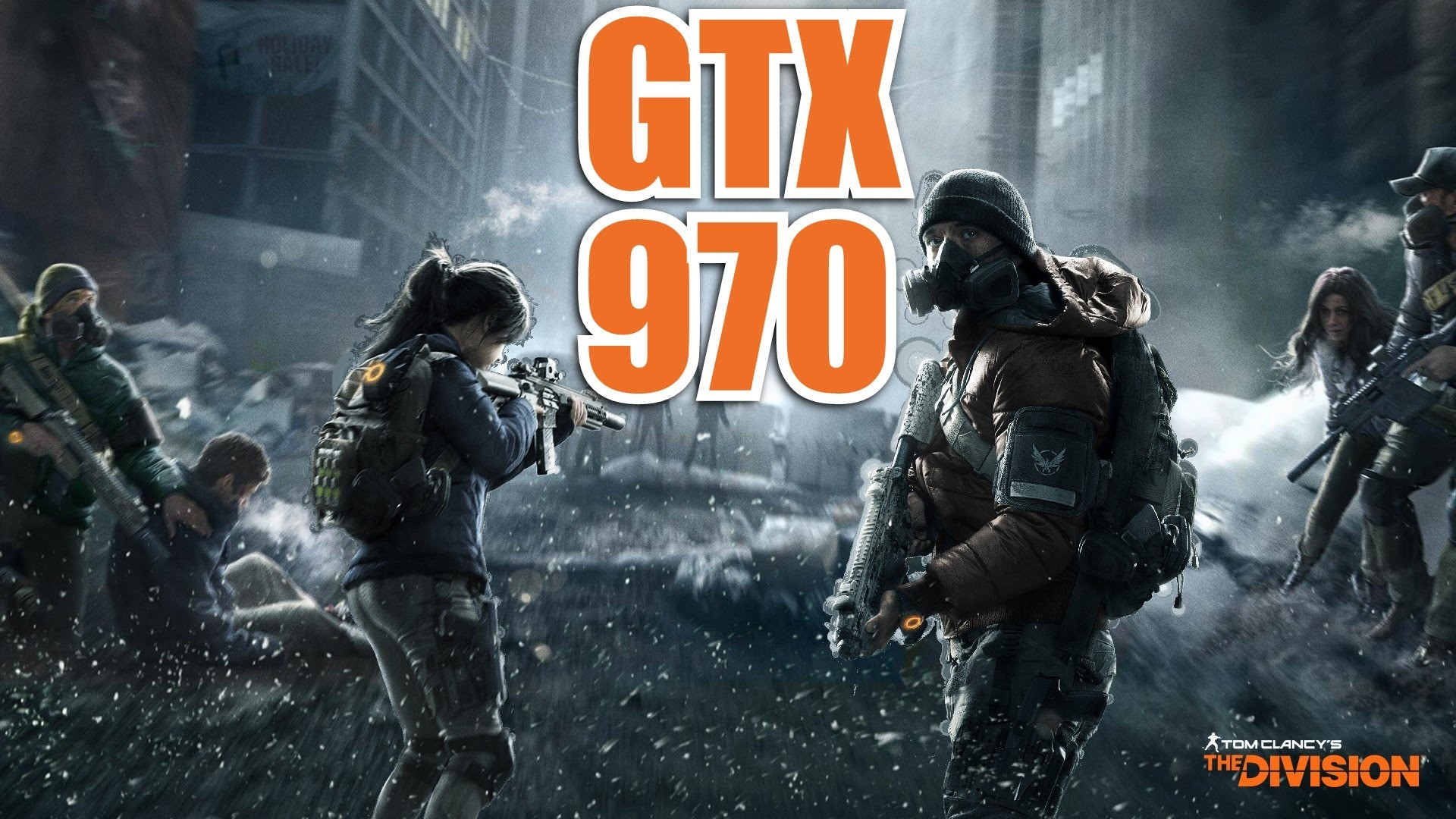 The Division – Open Beta | GTX 970 & i7 6700k | 1080p High | FRAME-RATE TEST