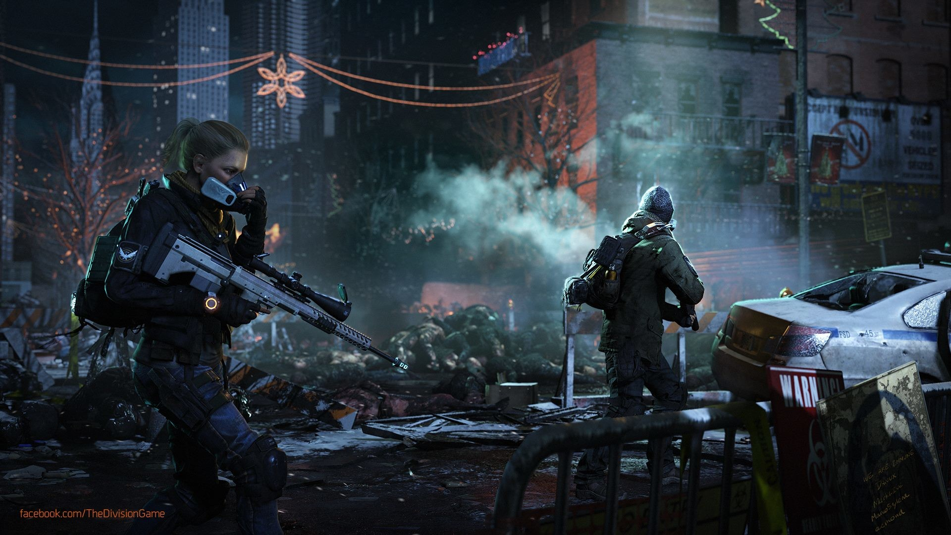 Tom Clancy s The Division The Division Wallpaper 1080p