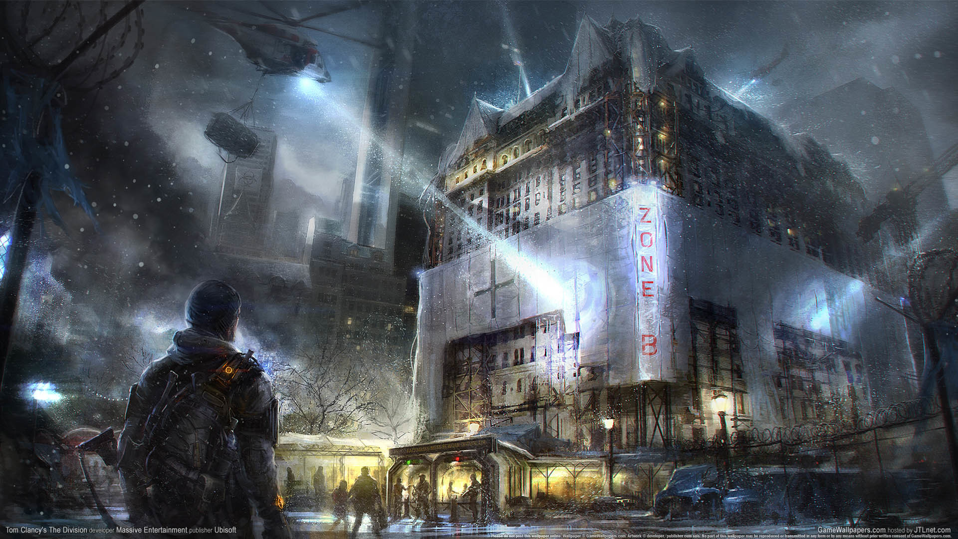 Tom Clancy's The Division wallpaper 01 1920×1080