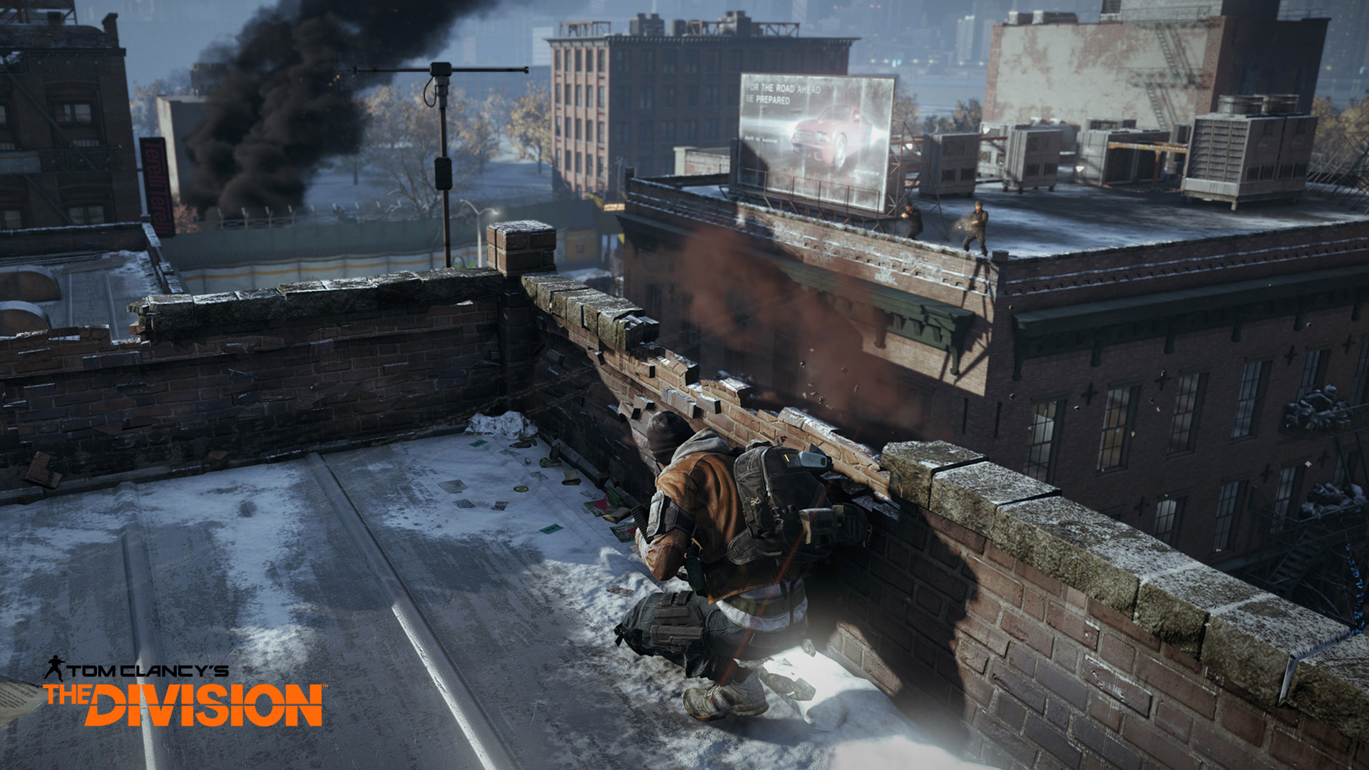 tom clancys the division game rooftops
