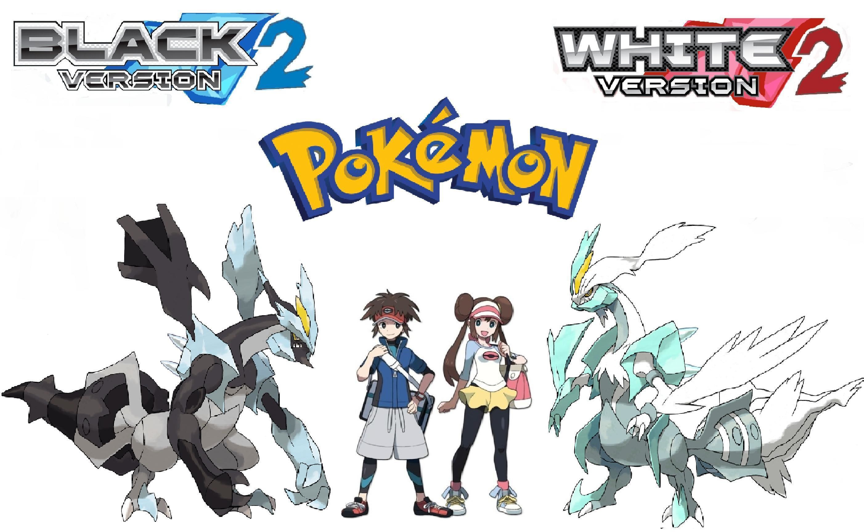 Pokemon Black And White For Desktop 2 Wallpapers and Background
