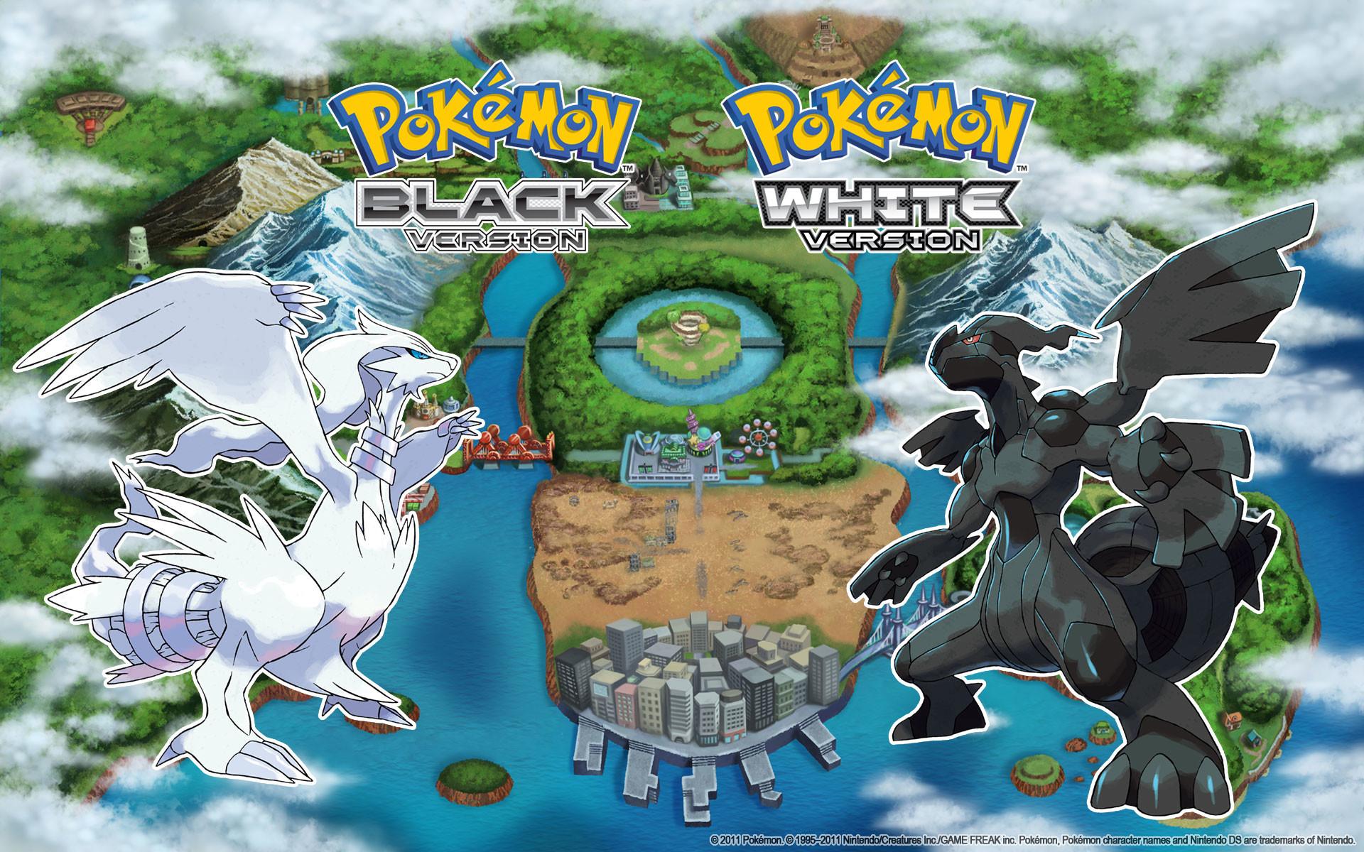 HD Pokemon Black And White Wallpaper.
