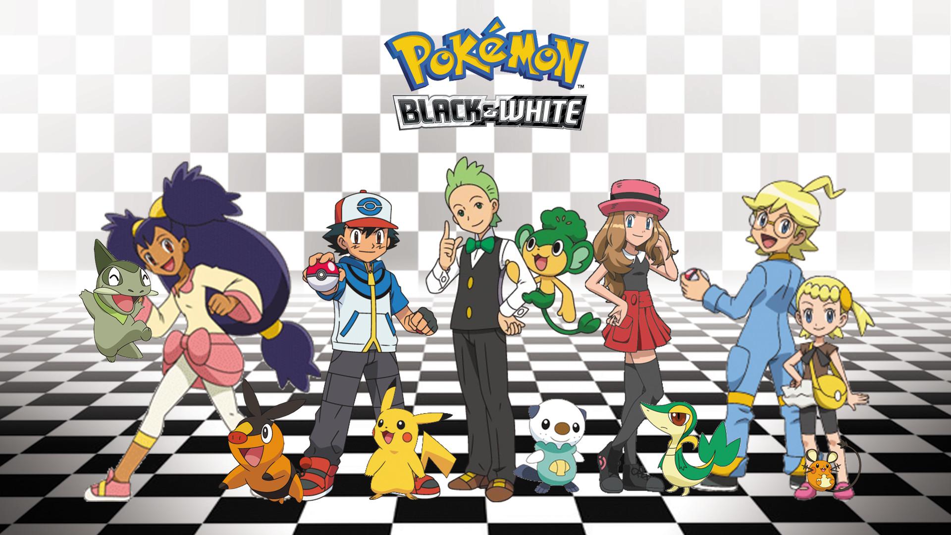View Fullsize Pokémon Black & White Image