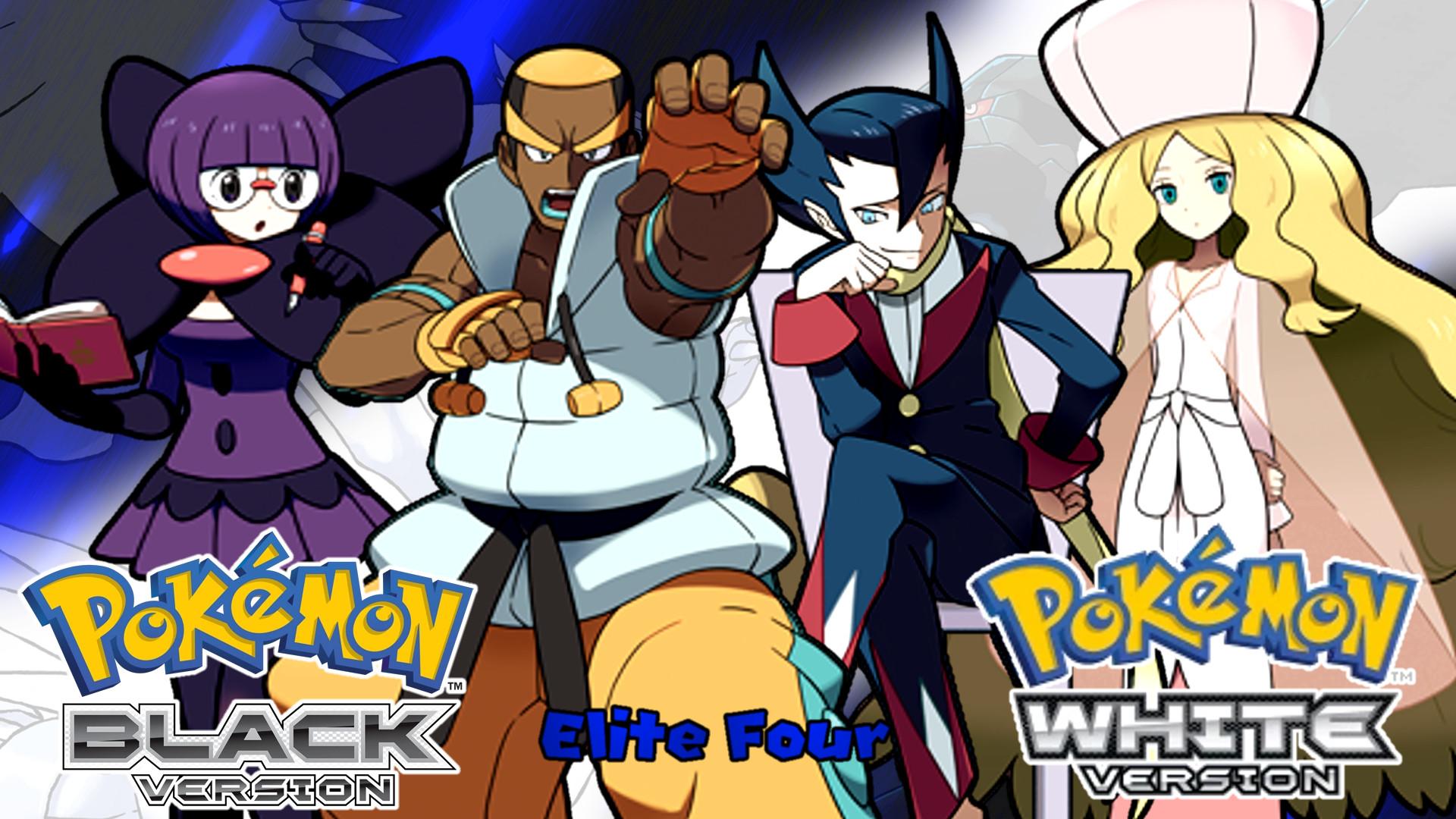 … Pokemon Black and White- The Elite Four Wallpaper by MattPlaysVG
