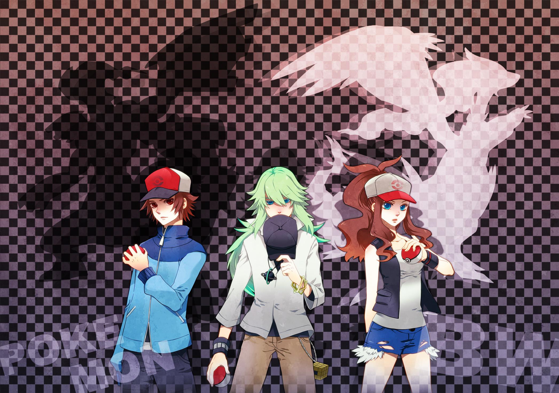Touya (Pok̩mon) (Hilbert (pok̩mon)), Fanart | page 59 РZerochan Anime  Image Board Mobile