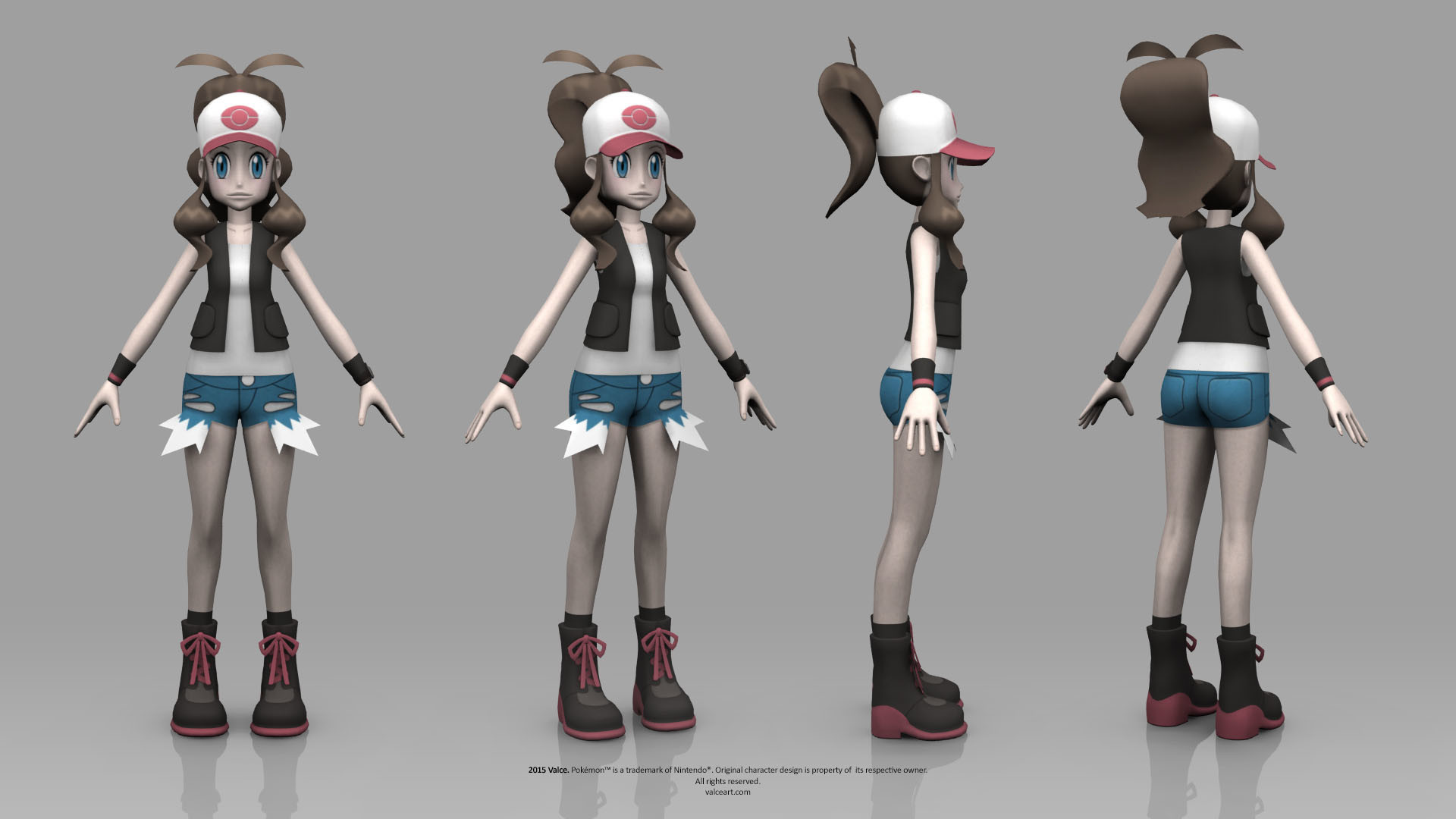 … Pokemon Black and White – Hilda by TheRealValce