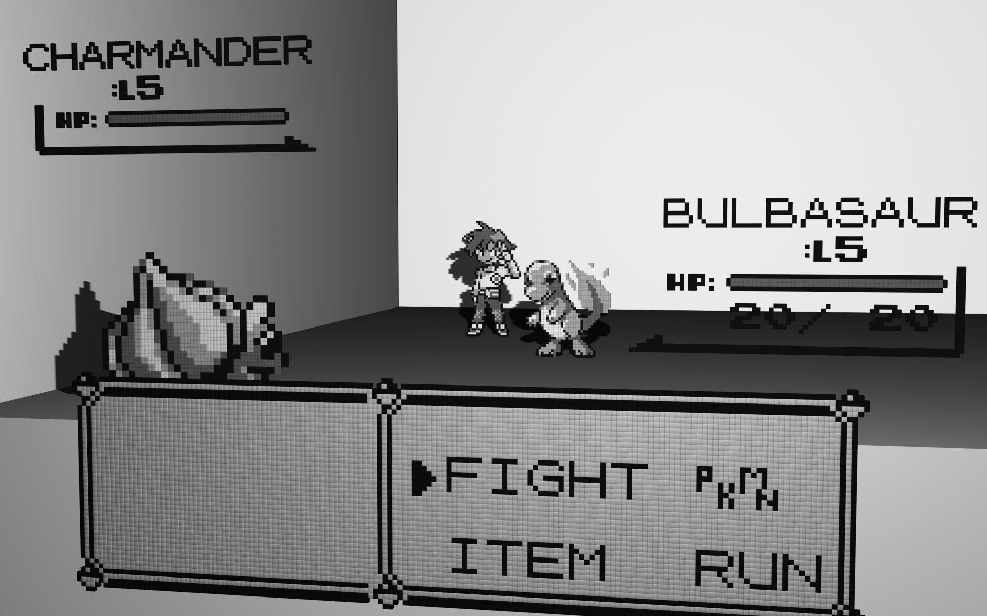 Video Game РPok̩mon Bulbasaur (Pok̩mon) Charmander (Pok̩mon) Wallpaper