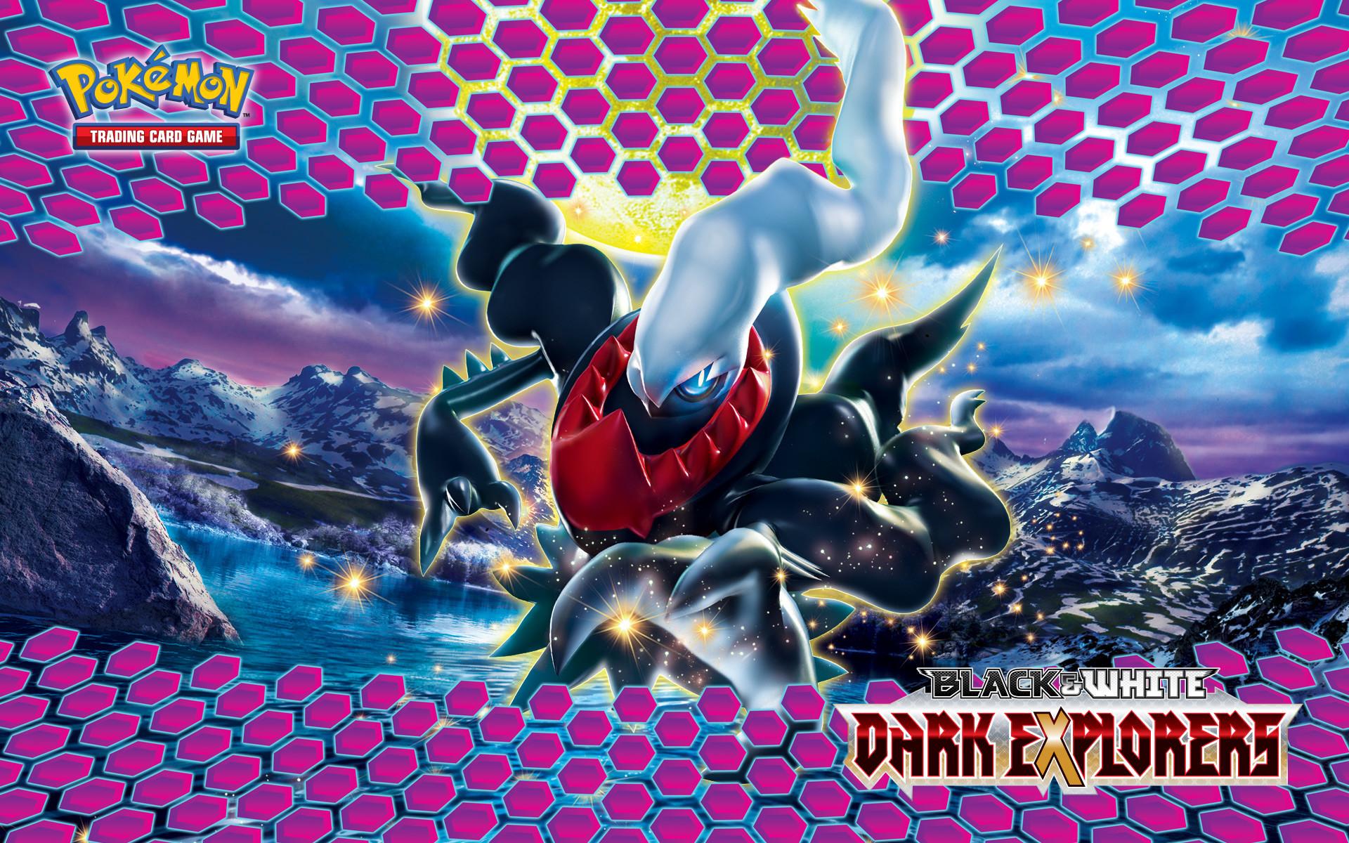 Pokémon TCG: Black & White—Dark Explorers Darkrai Wallpaper. 1024 x 768  1280 x 1024 1440 x 900 …