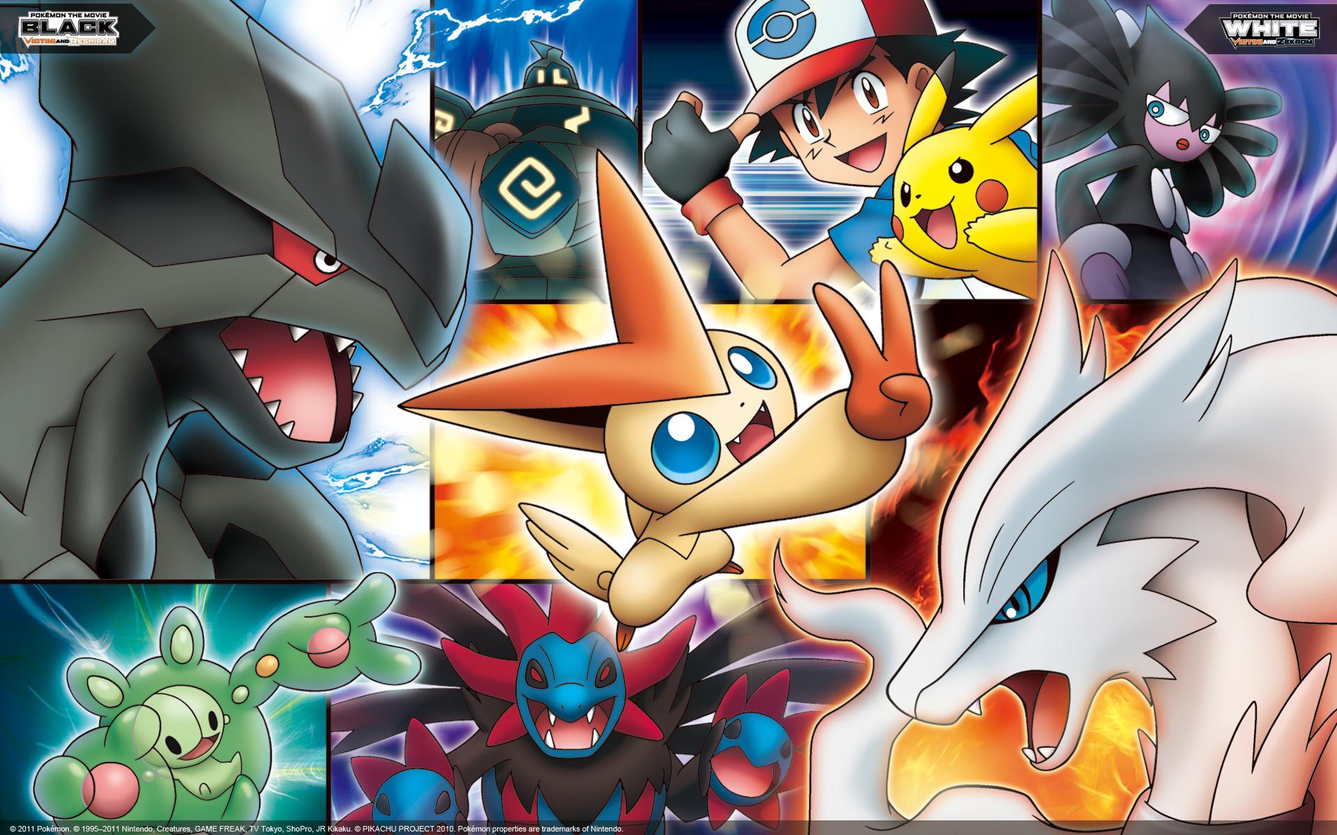Pokémon the Movie: Collage Wallpaper