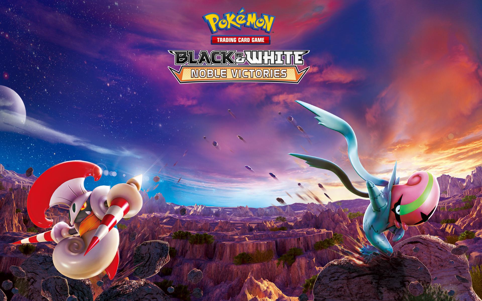 Pokémon TCG: Black & White—Noble Victories Theme Deck Wallpaper