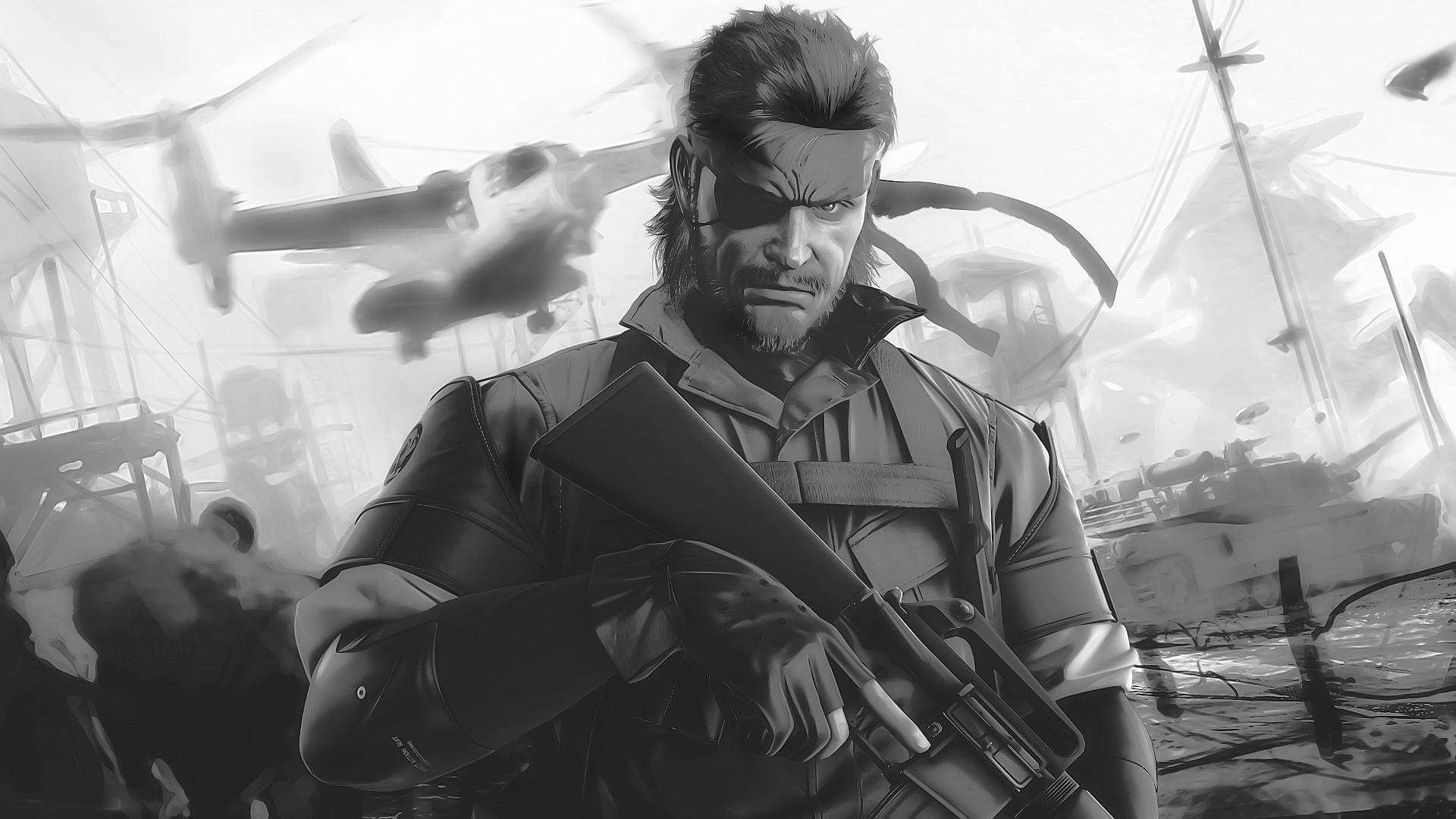 Metal Gear Big Boss Wallpaper – WallpaperSafari