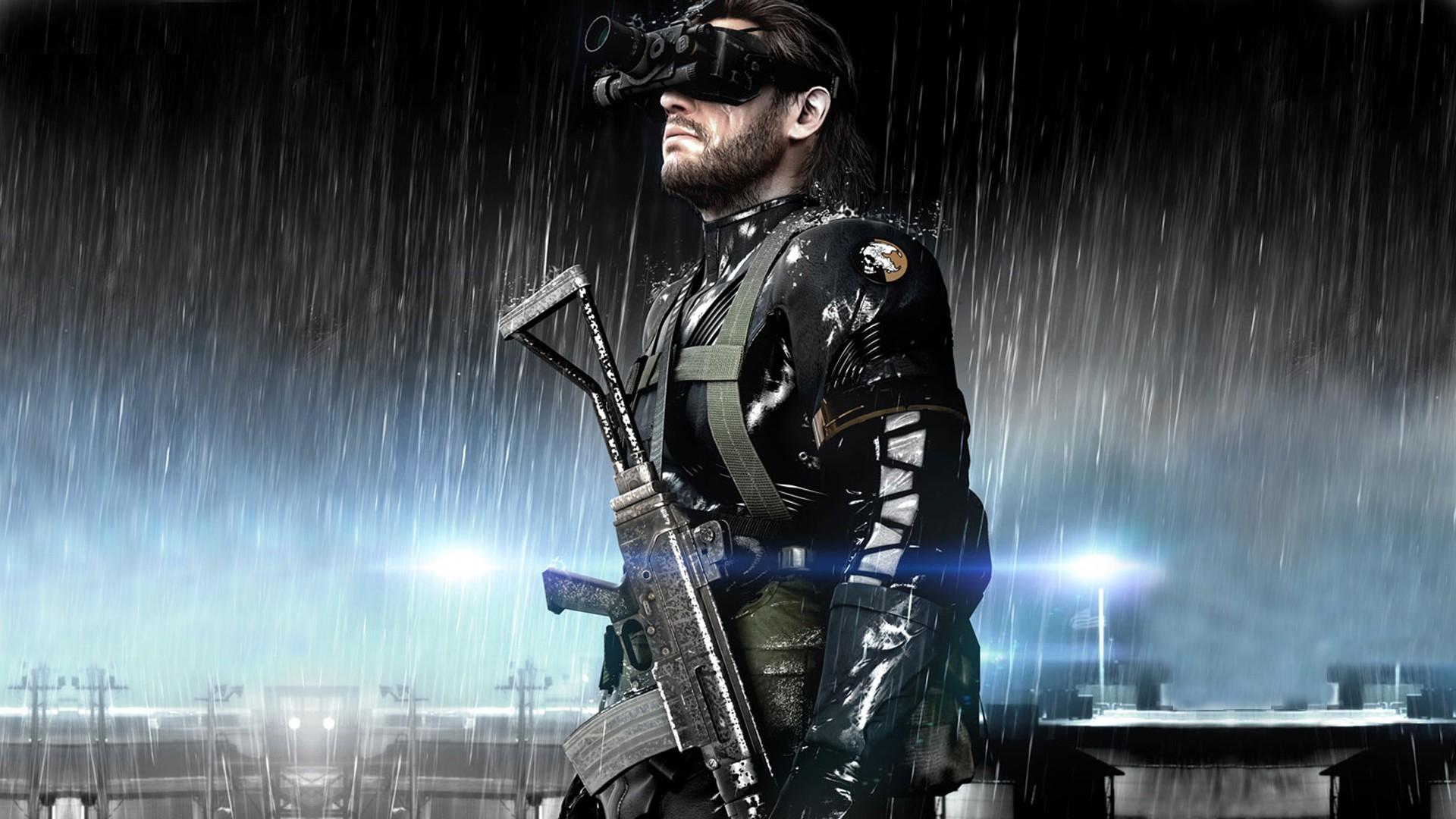 metal gear solid v ground zeroes big boss video games wallpaper hd