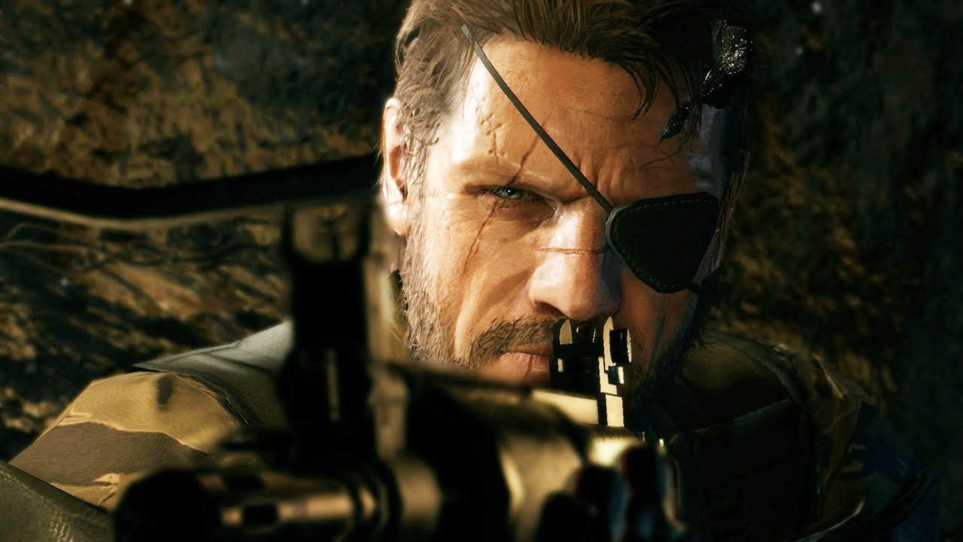 Big Boss aiming – Metal Gear Solid V: The Phantom Pain wallpaper