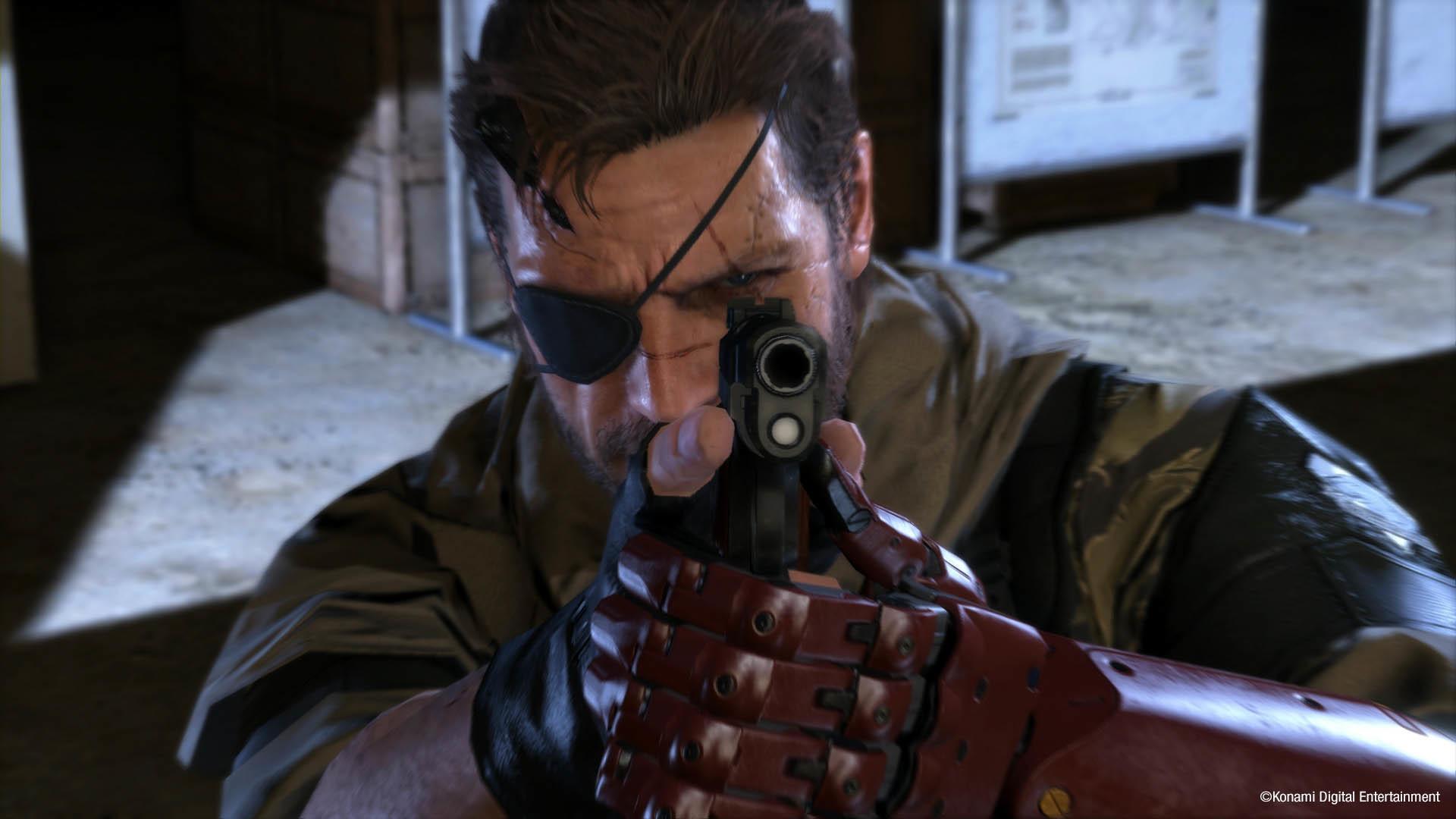 Big Boss in Action – Metal Gear Solid V: The Phantom Pain  wallpaper