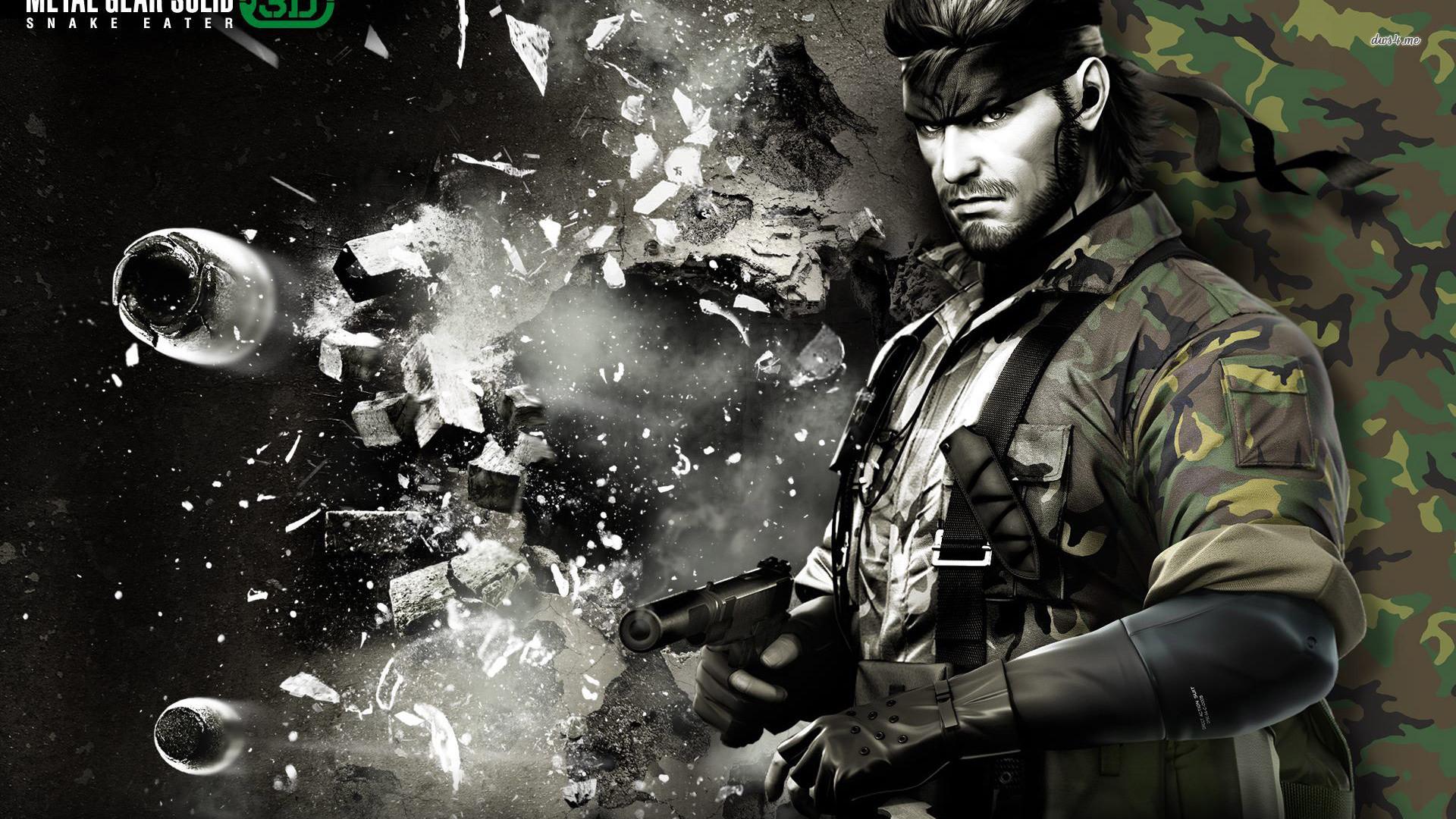 Metal Gear Solid HD Wallpapers Backgrounds Wallpaper · Big Boss …
