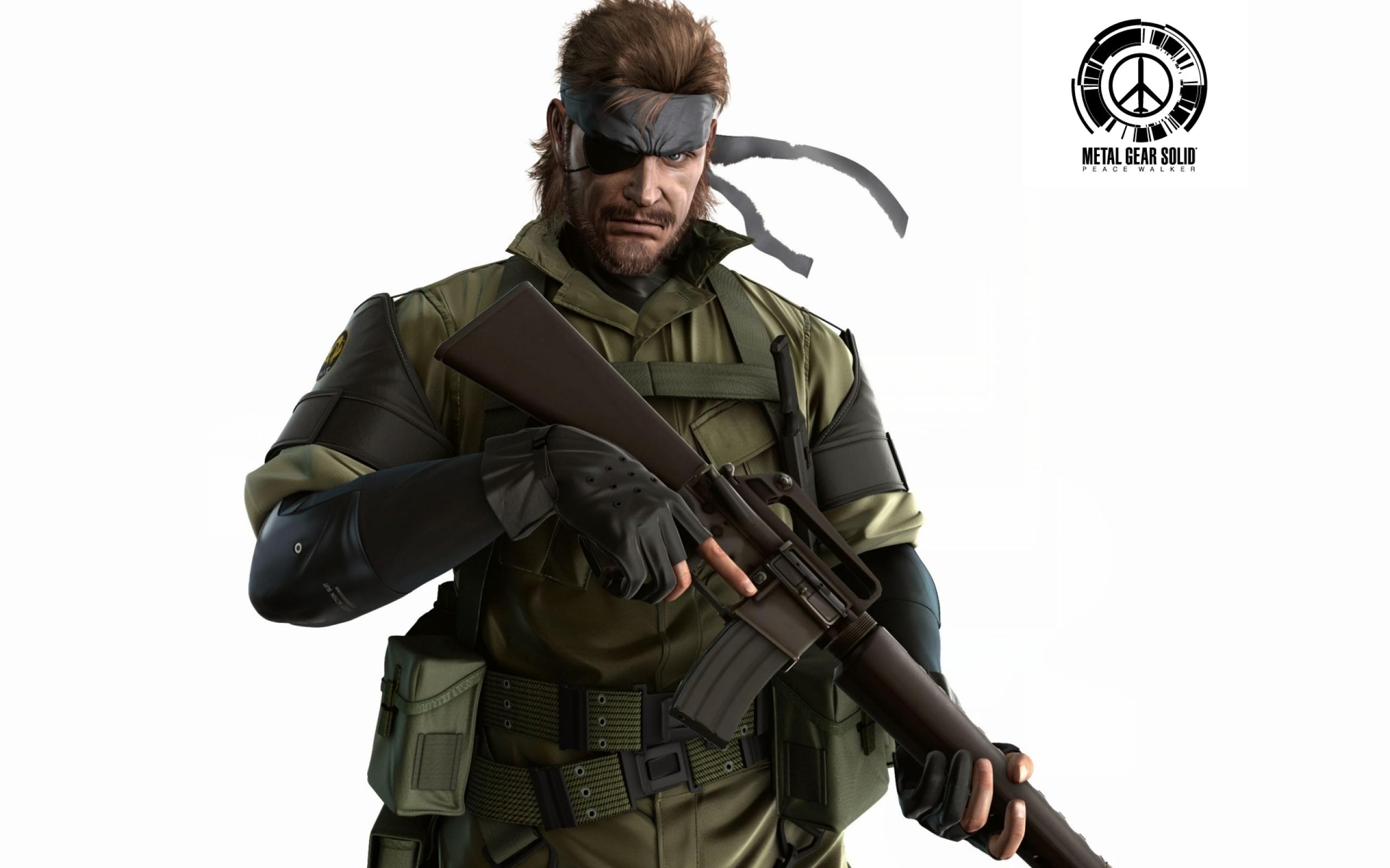 video games metal gear solid big boss peace walker naked snake white  background 1920×1200 wallpap Art