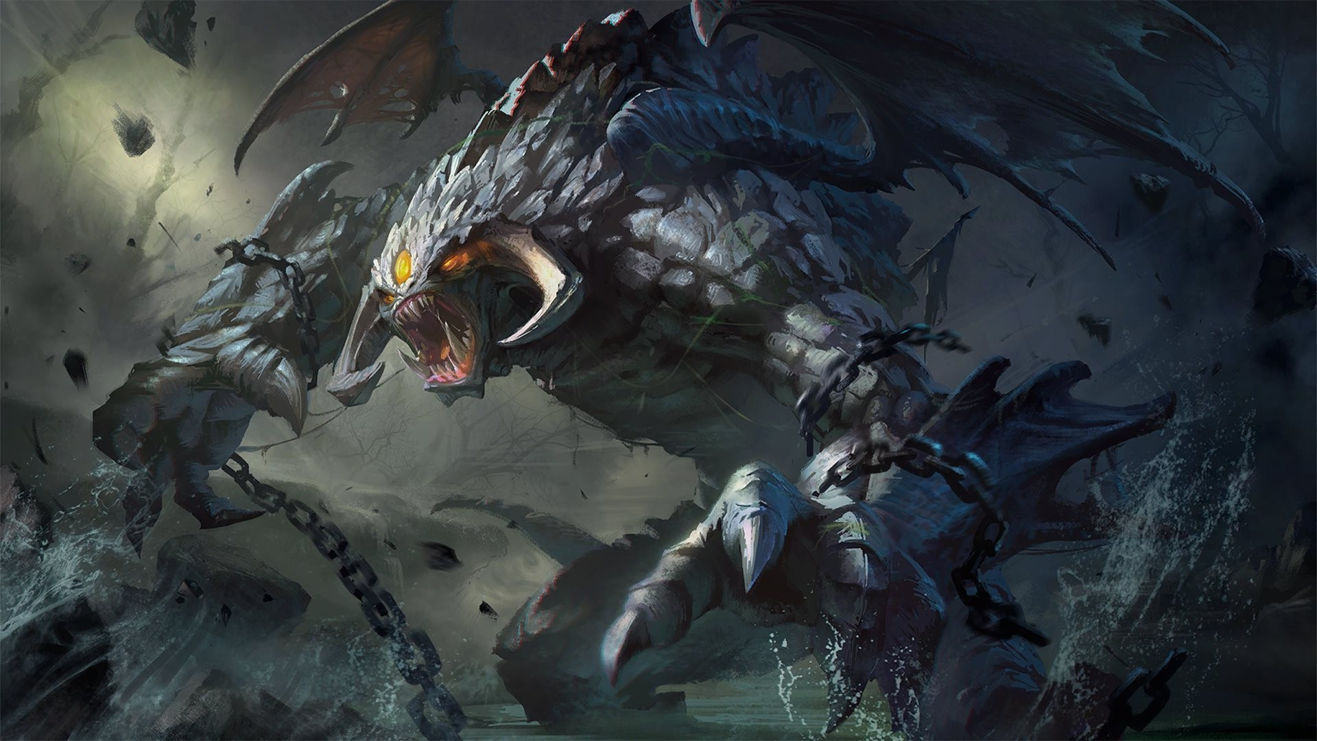 Defense Of The Ancient, Dota, Dota 2, Valve, Valve Corporation, Heroes,  Video Games, Roshan, Big Boss Wallpapers HD / Desktop and Mobile Backgrounds