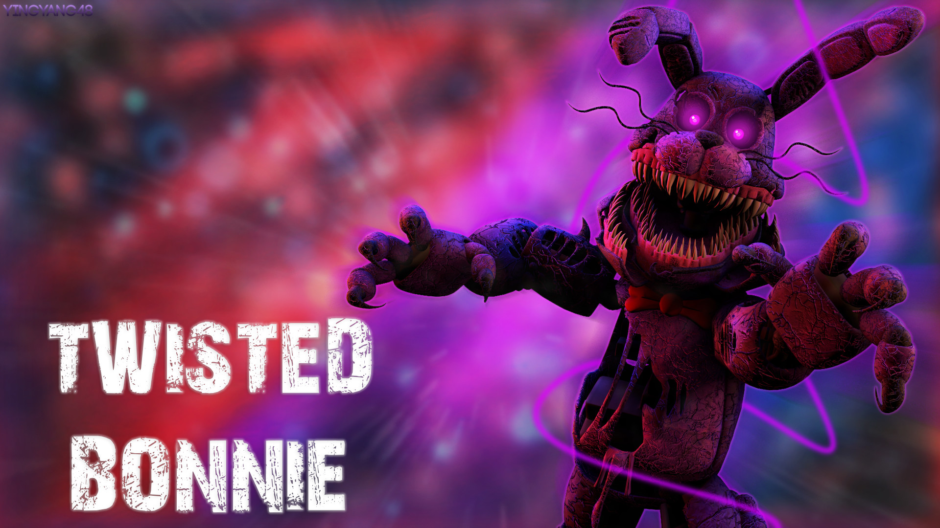 … Twisted Bonnie – Desktop Wallpaper by YingYang48