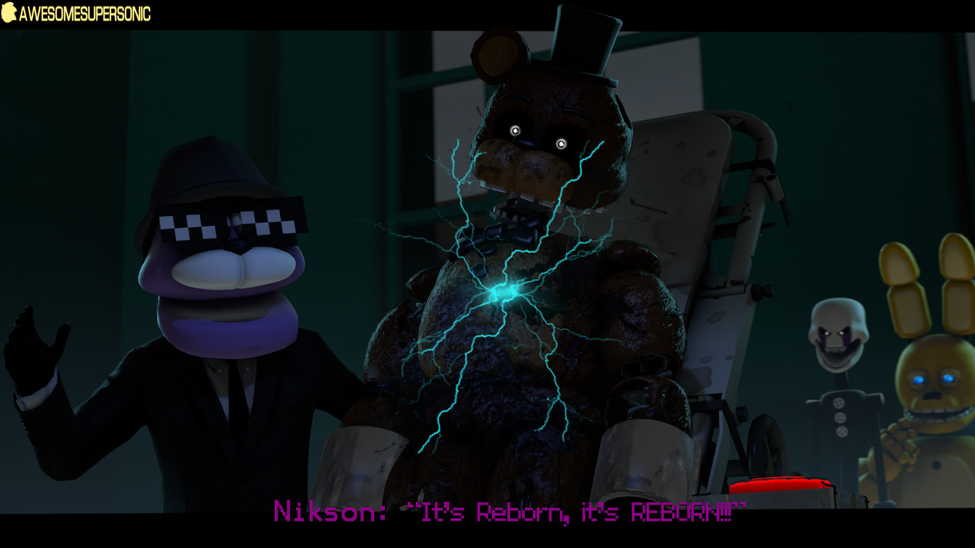 [SFM FNaF] It is reborn by AwesomeSuperSonic on DeviantArt