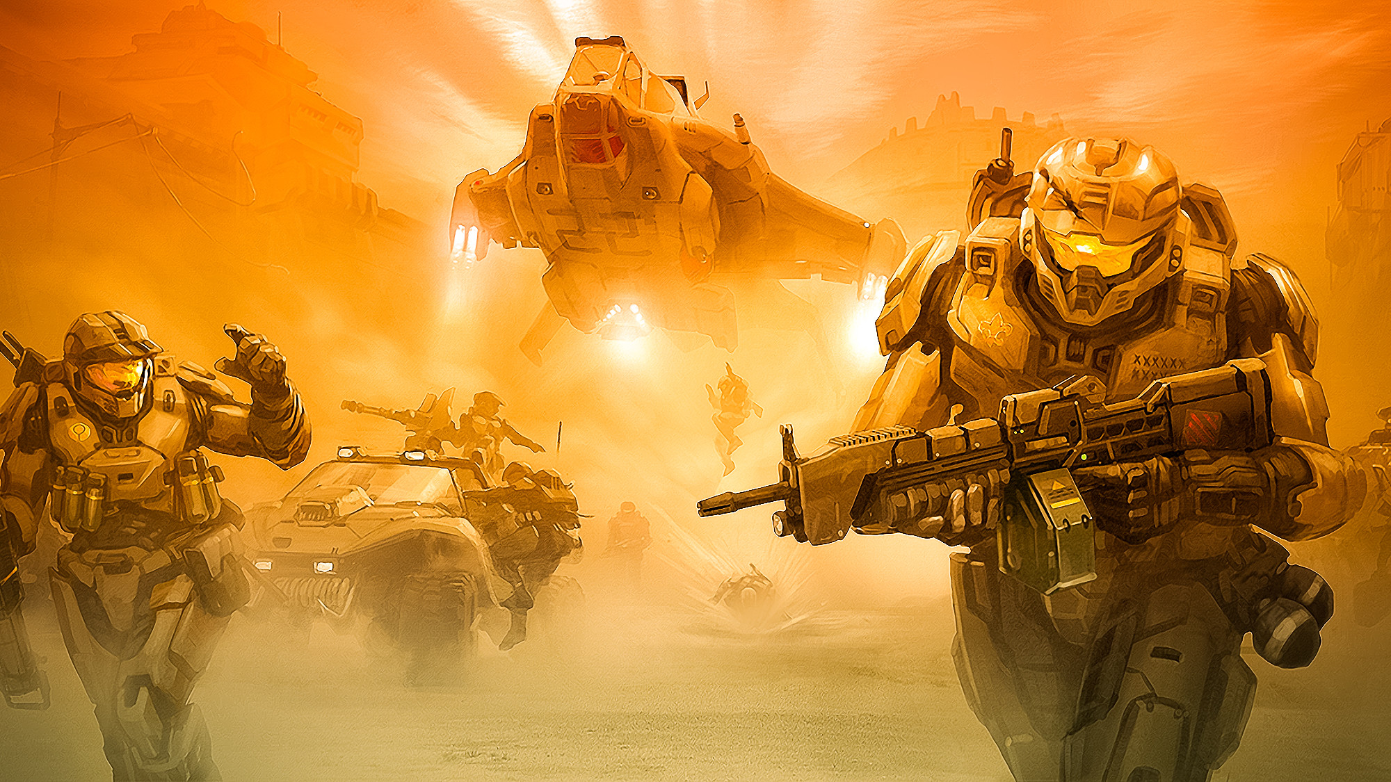 Game Halo 5 Wallpaper HD